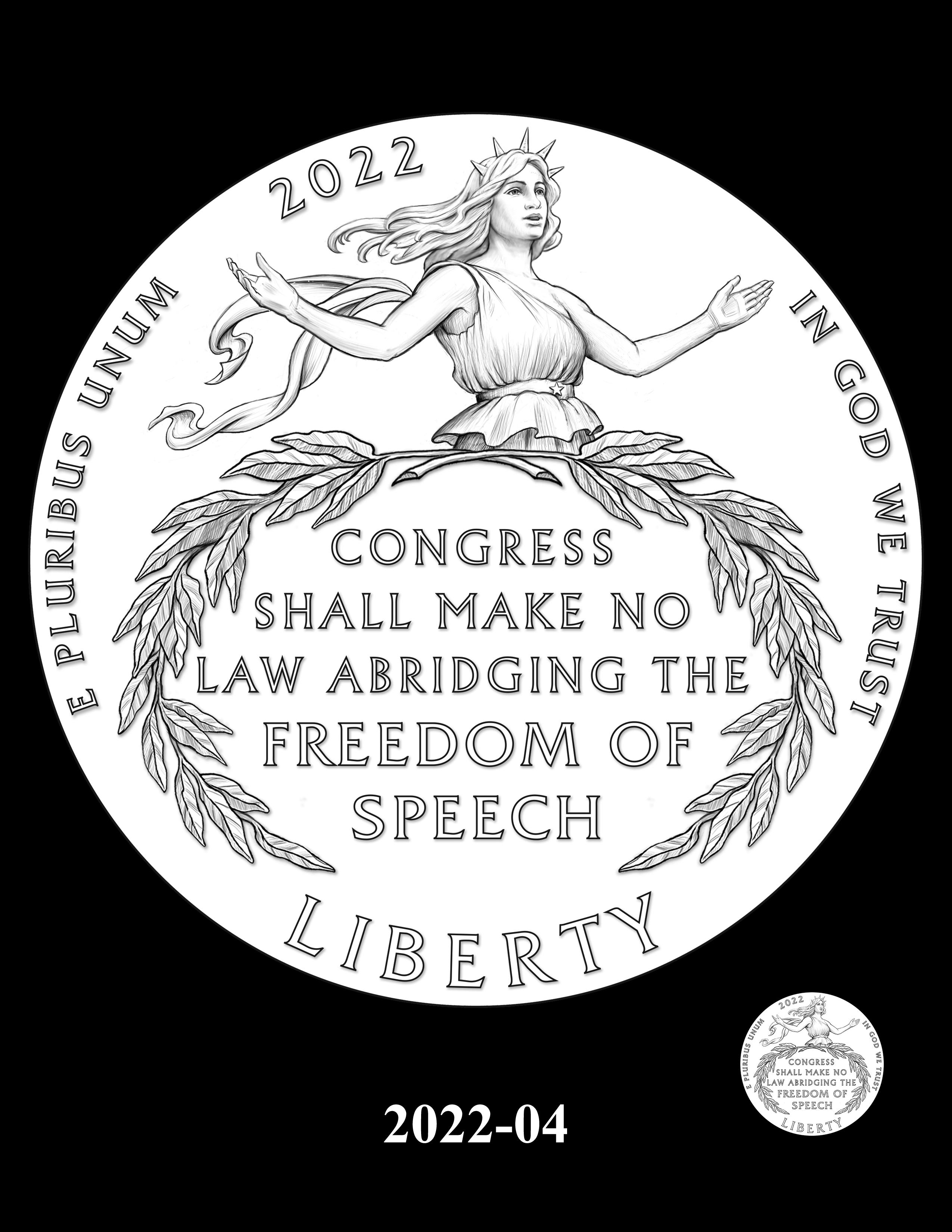 04-2022 -- 2021 - 2025 American Eagle Platinum Proof Program