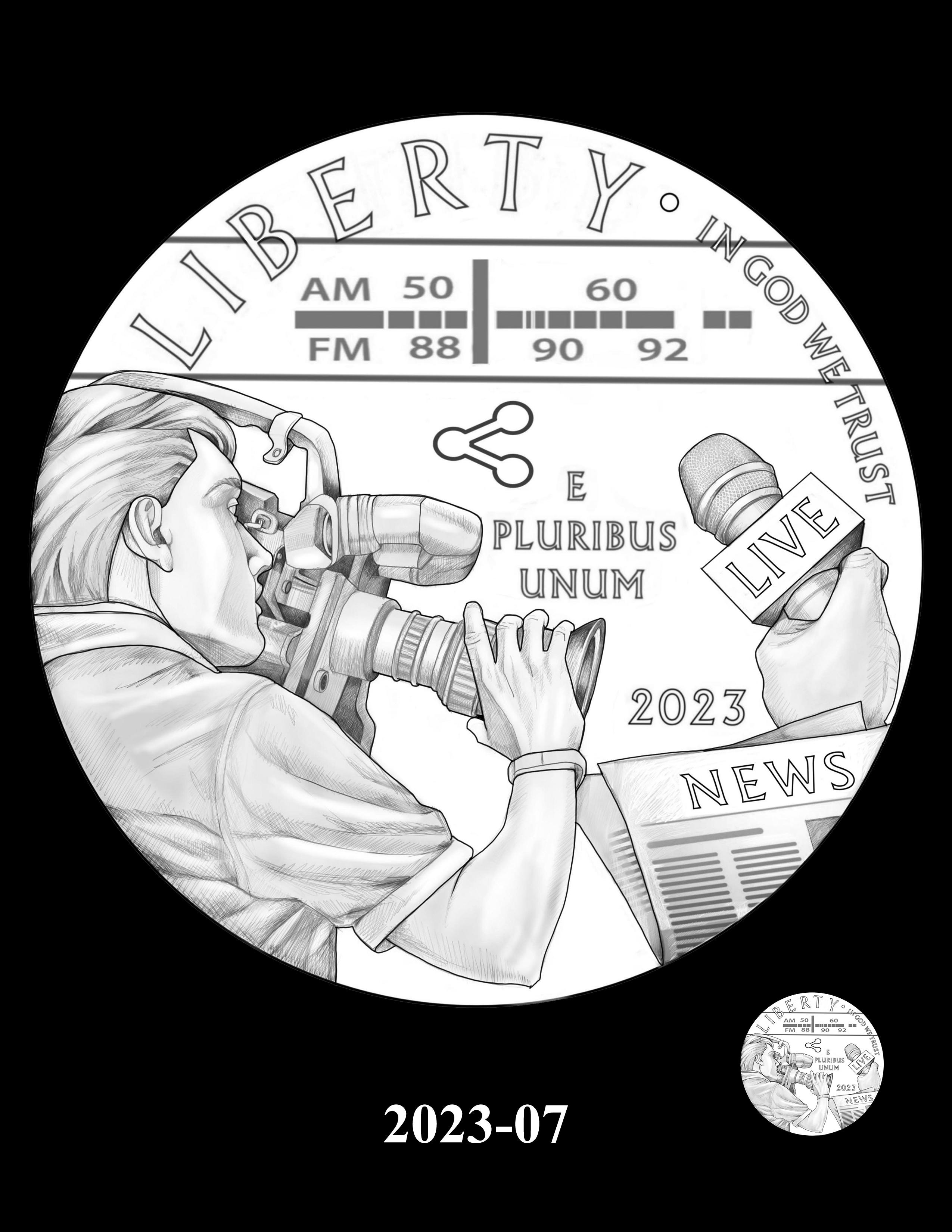 07-2023 -- 2021 - 2025 American Eagle Platinum Proof Program