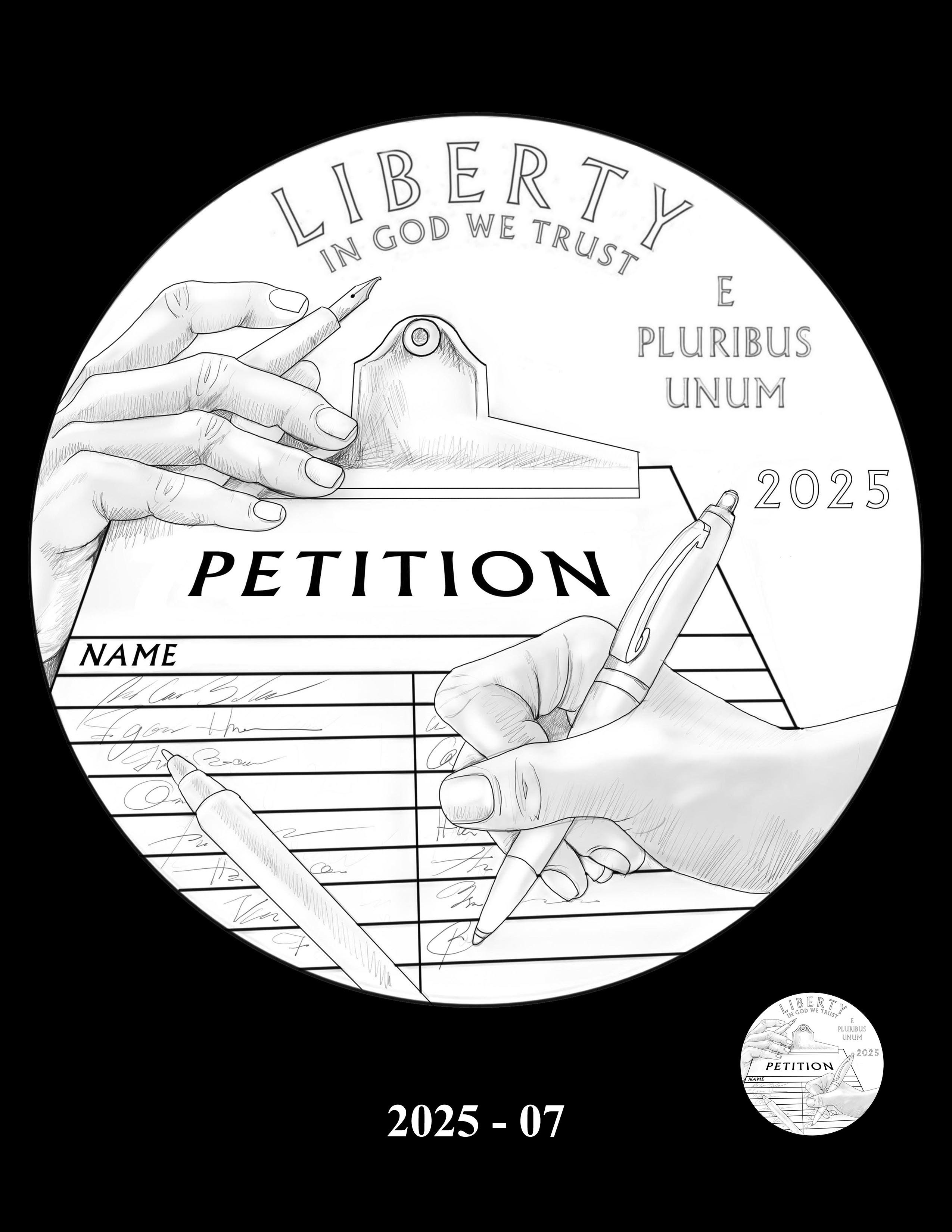 07-2025 -- 2021 - 2025 American Eagle Platinum Proof Program