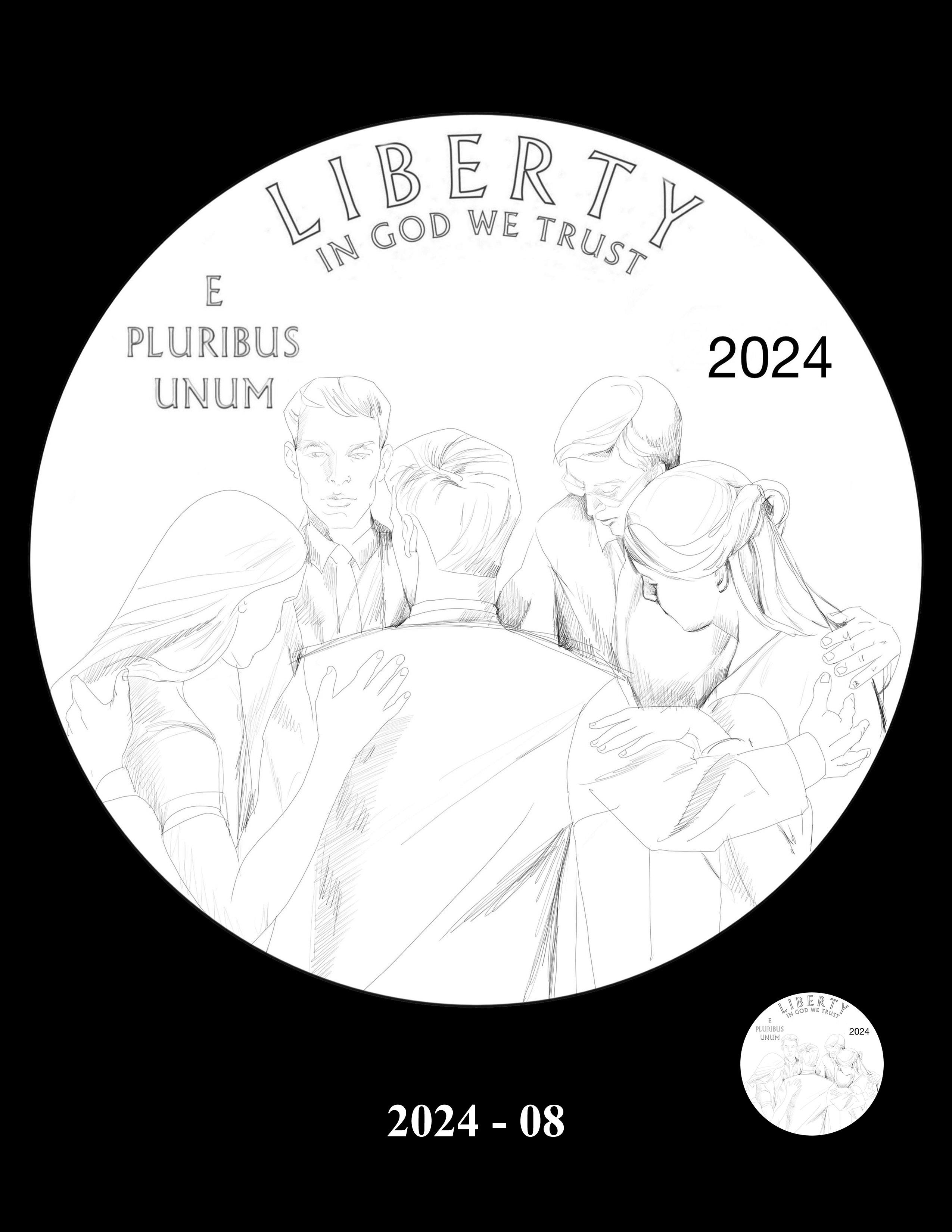 08-2024 -- 2021 - 2025 American Eagle Platinum Proof Program