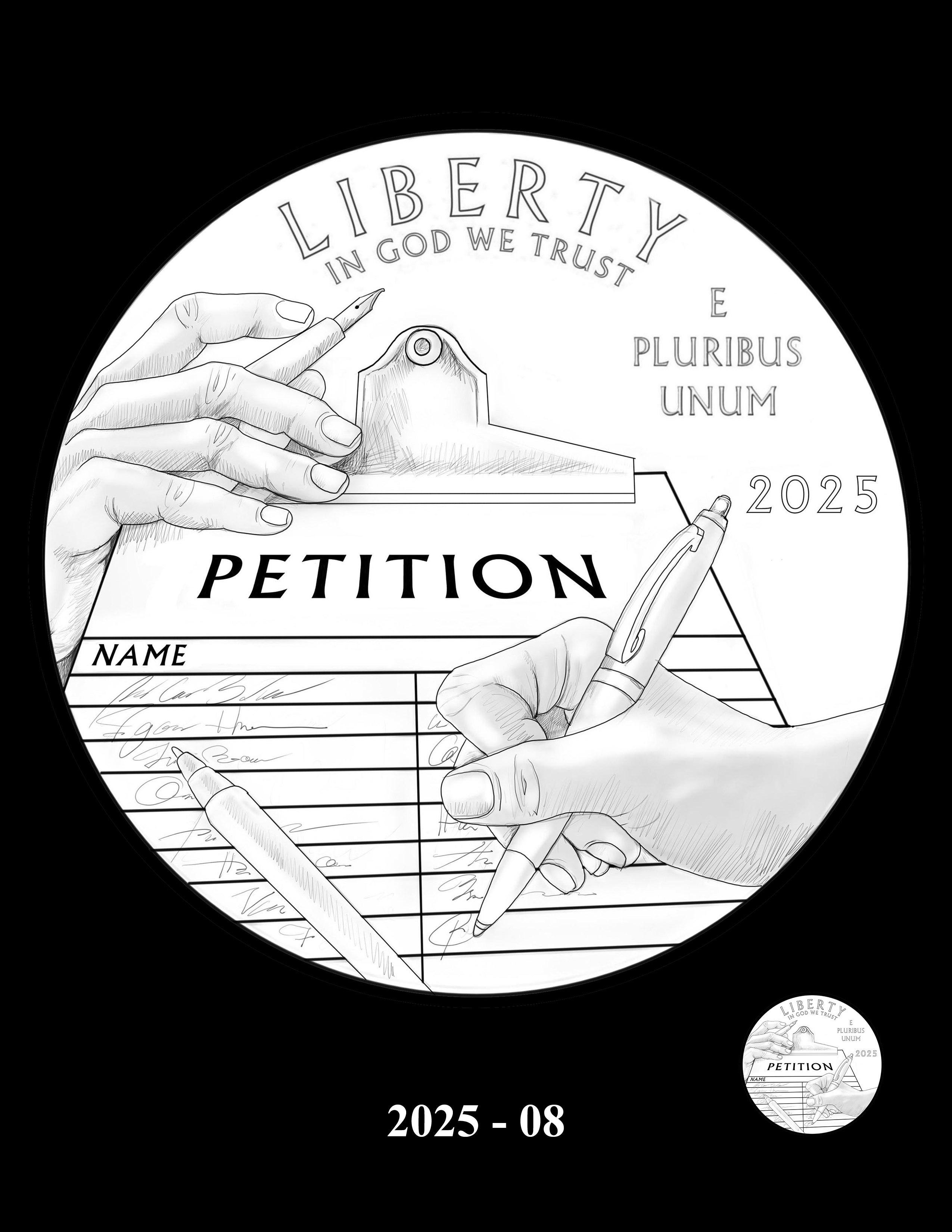 08-2025 -- 2021 - 2025 American Eagle Platinum Proof Program