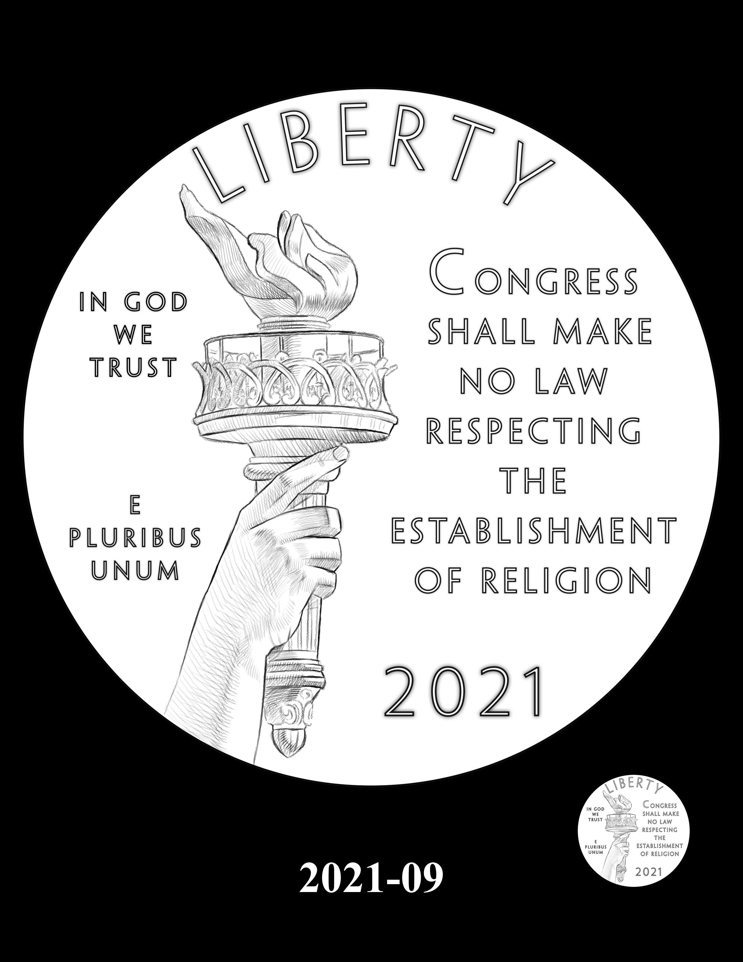 09-2021 -- 2021 - 2025 American Eagle Platinum Proof Program