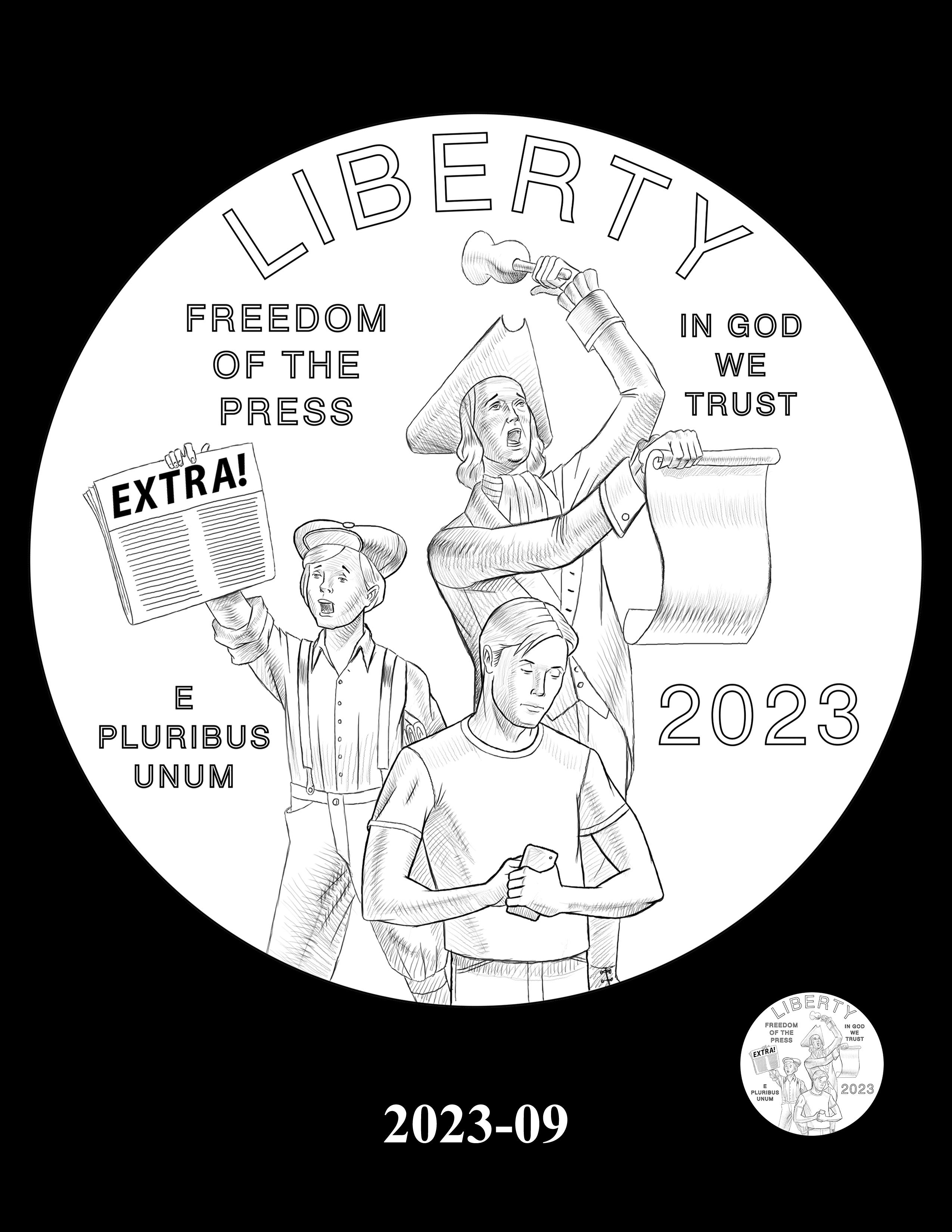 09-2023 -- 2021 - 2025 American Eagle Platinum Proof Program