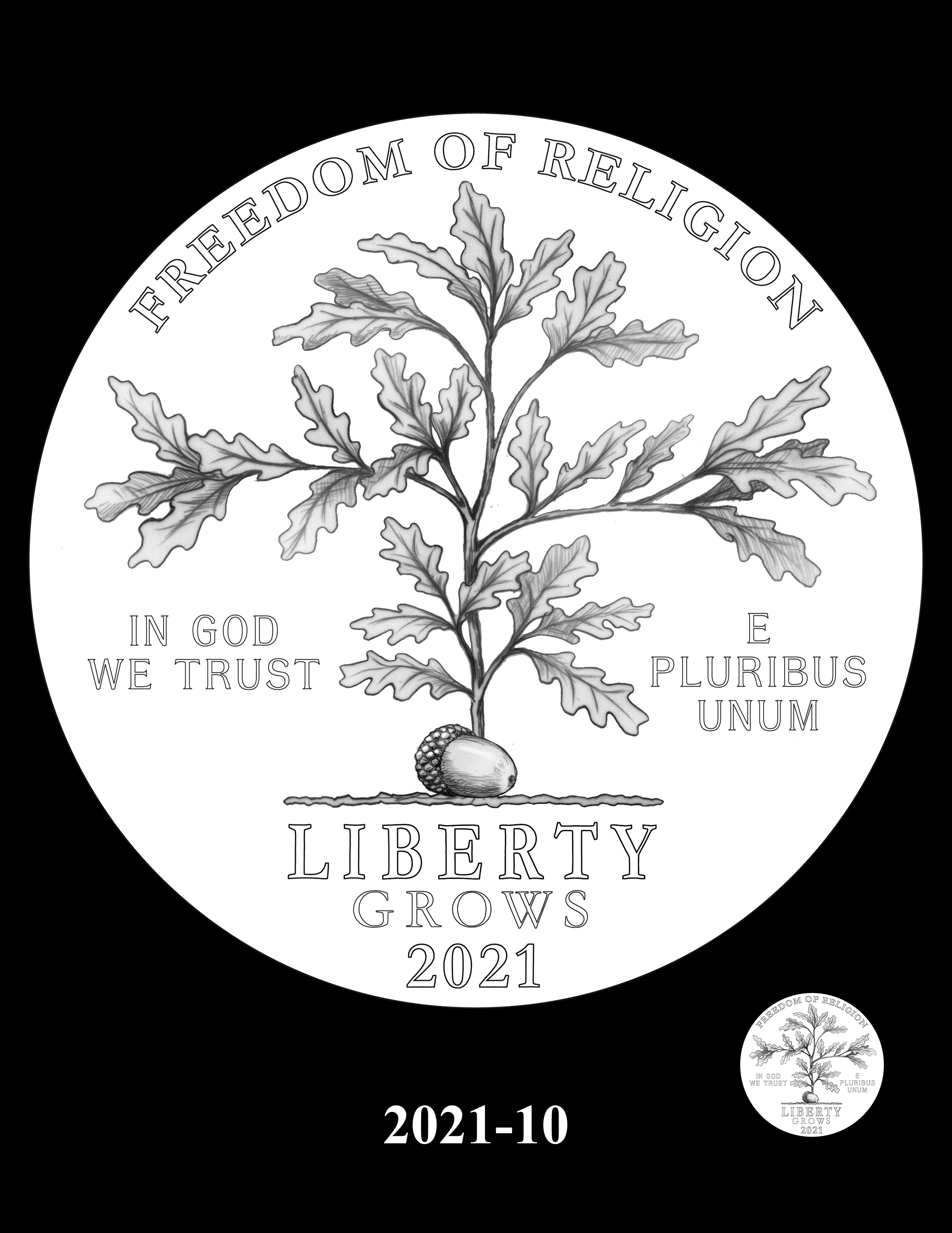 10-2021 -- 2021 - 2025 American Eagle Platinum Proof Program