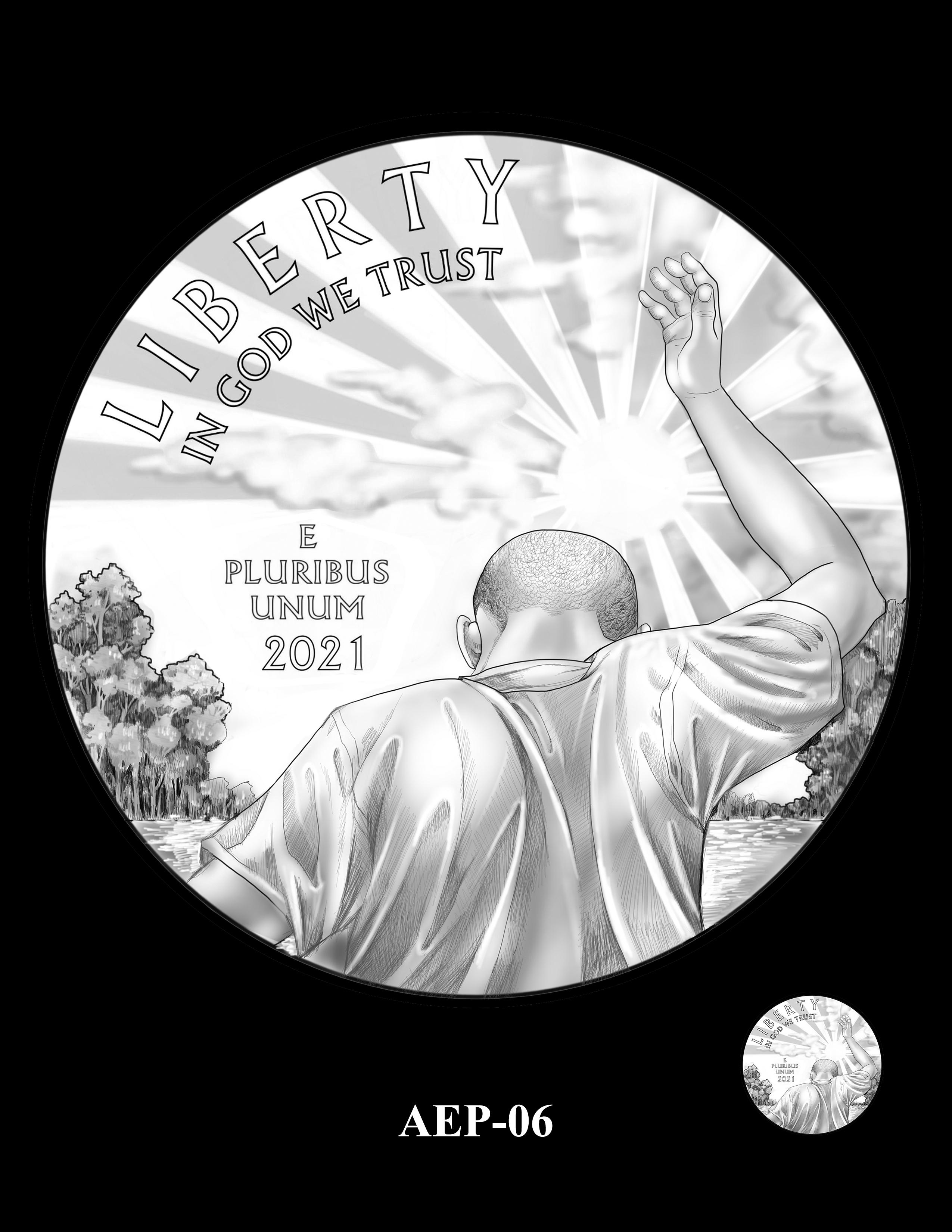 AEP-06 -- 2021 American Eagle Platinum Proof Program