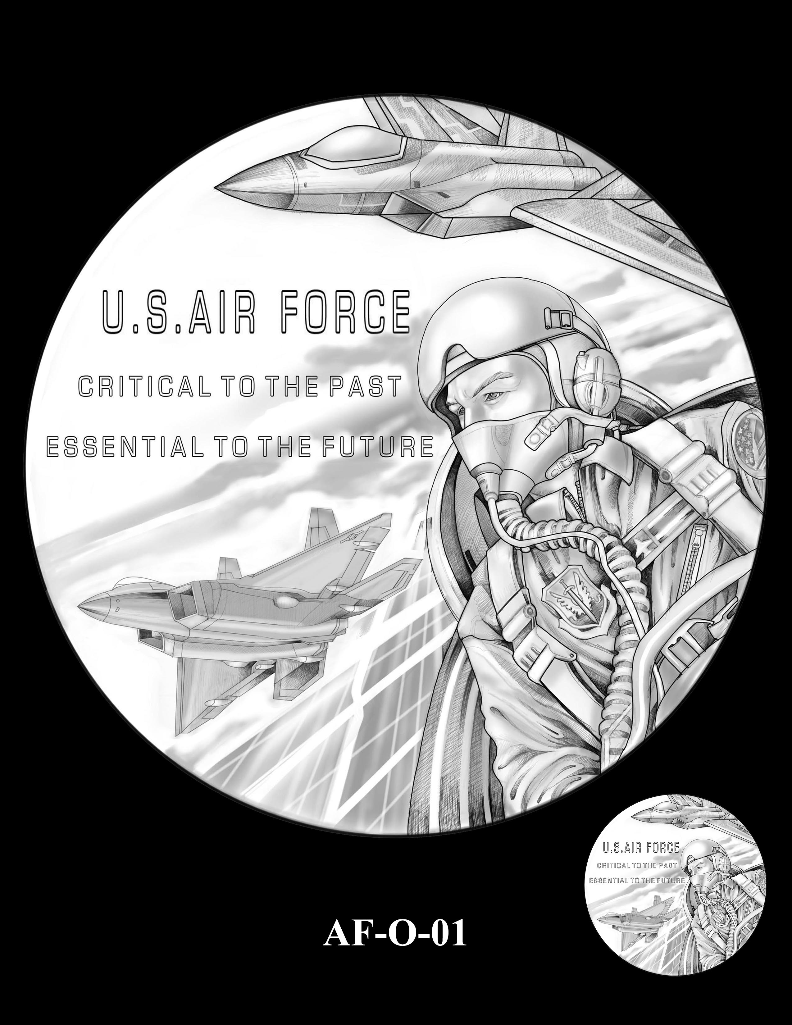 AF-O-01 -- Armed Forces Medal - Air Force