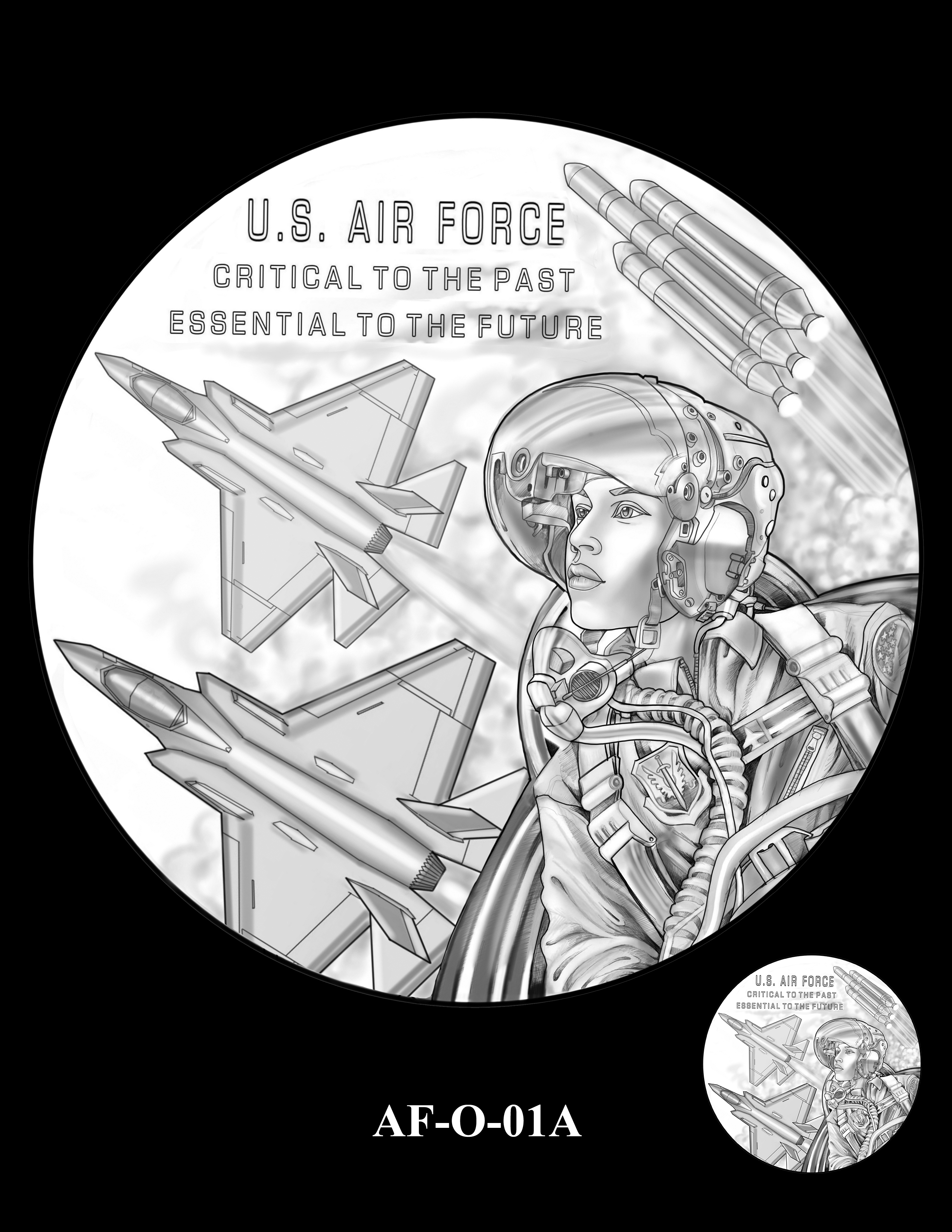AF-O-01A -- Armed Forces Medal - Air Force