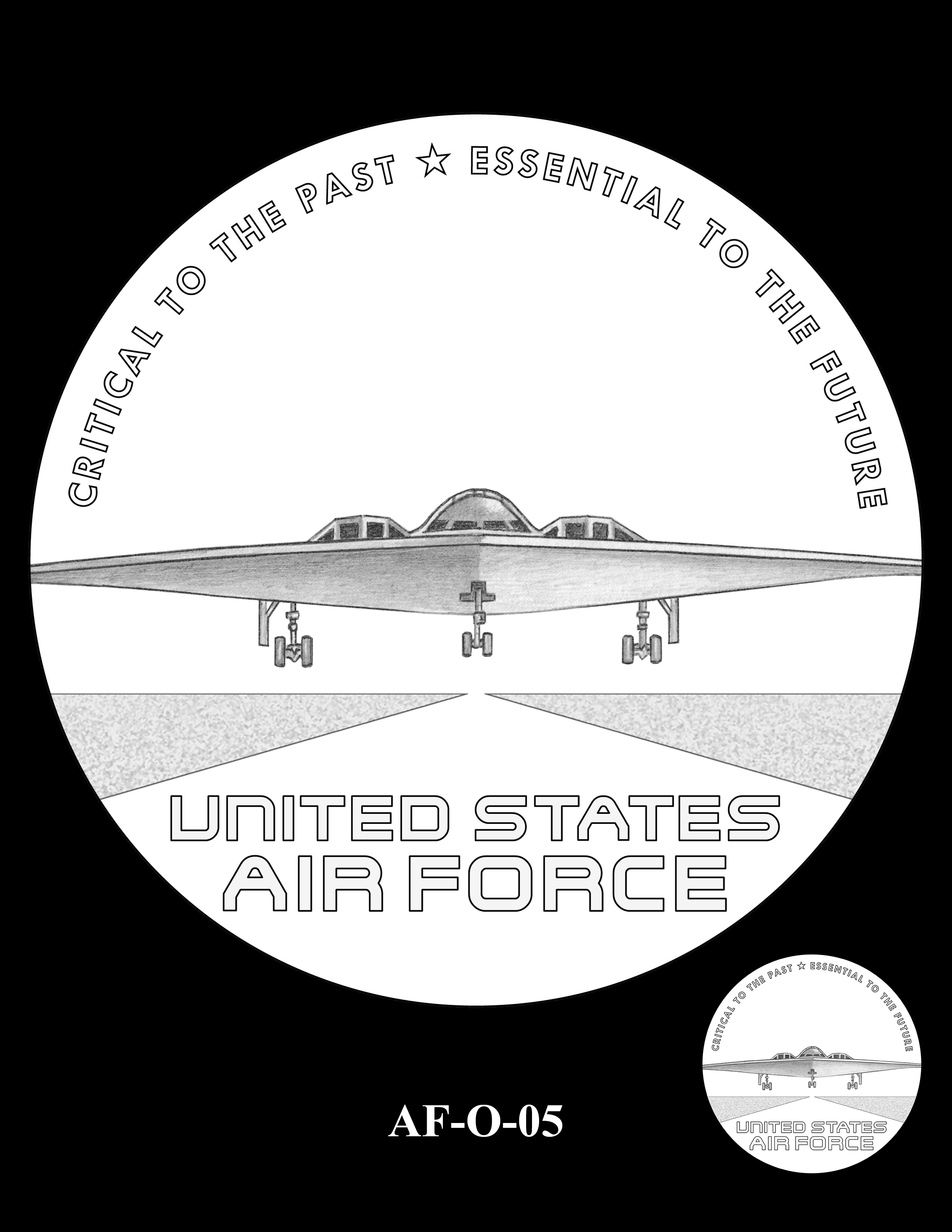 AF-O-05 -- Armed Forces Medal - Air Force