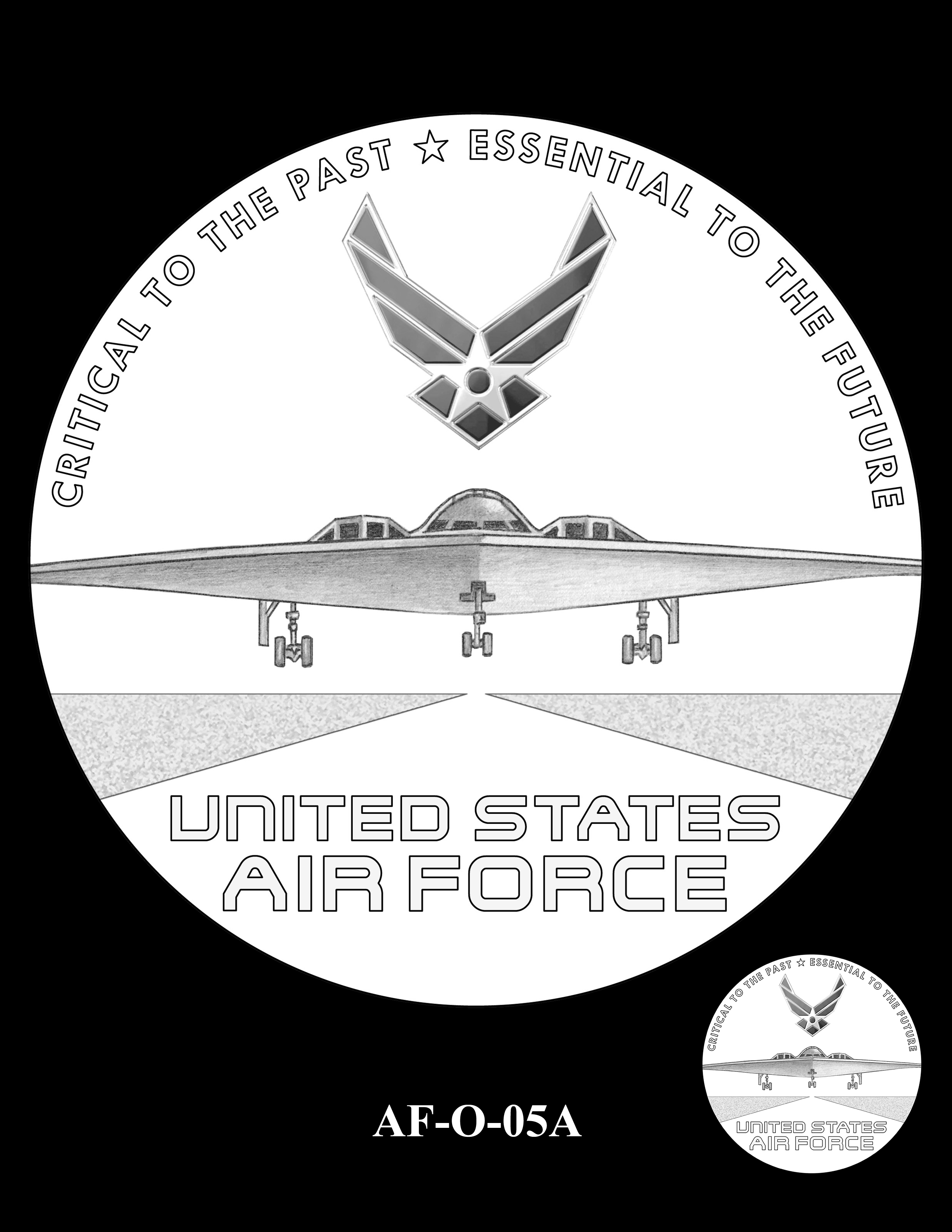 AF-O-05A -- Armed Forces Medal - Air Force