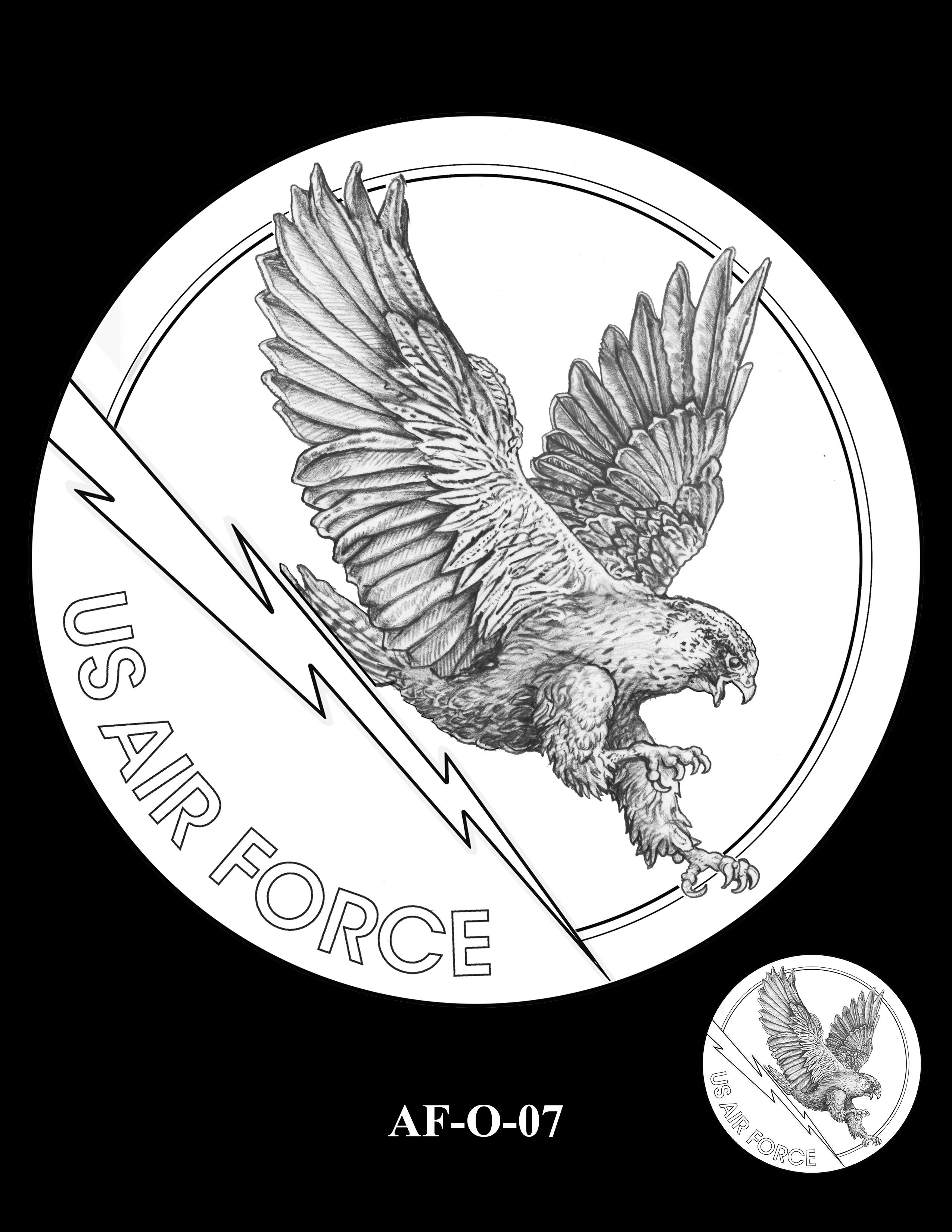 AF-O-07 -- Armed Forces Medal - Air Force