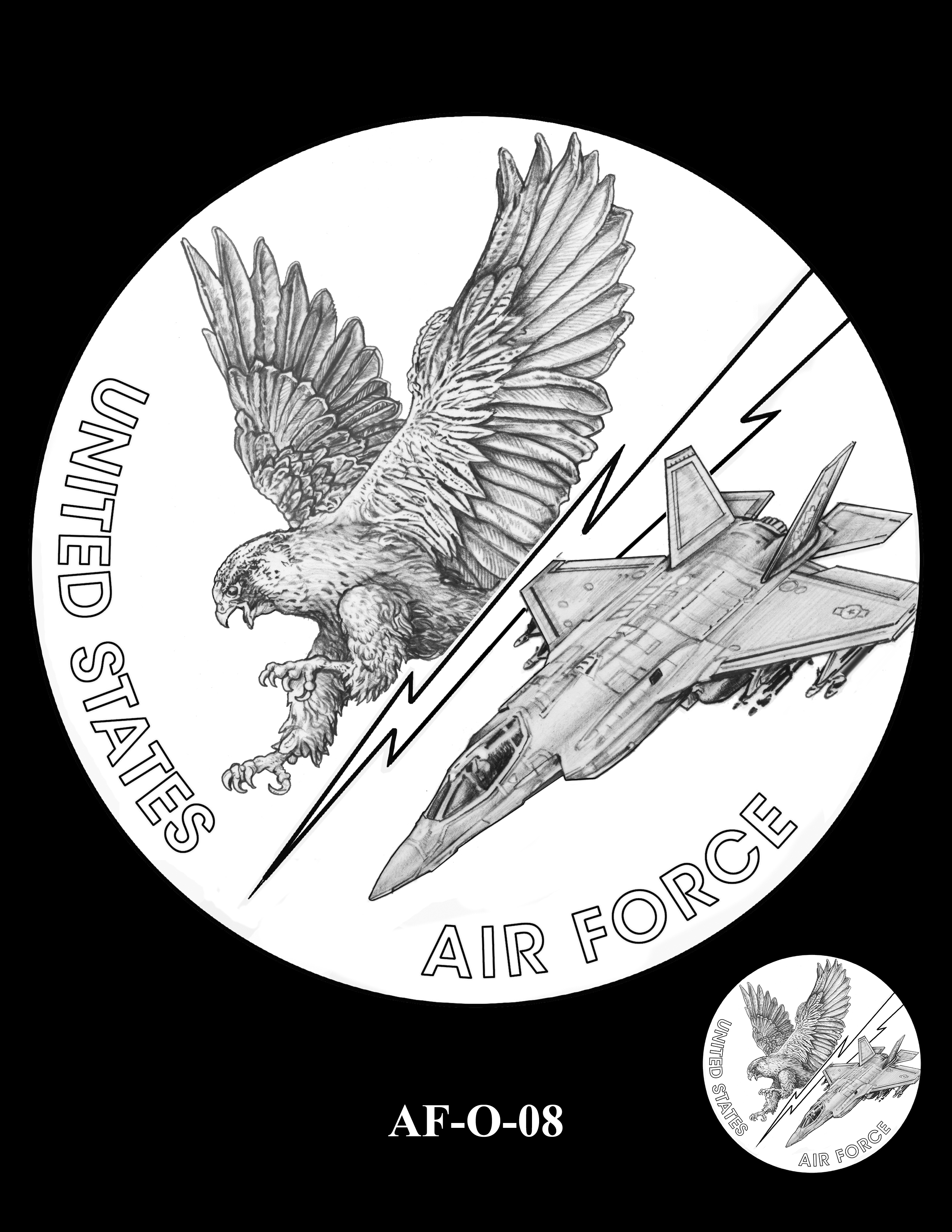 AF-O-08 -- Armed Forces Medal - Air Force