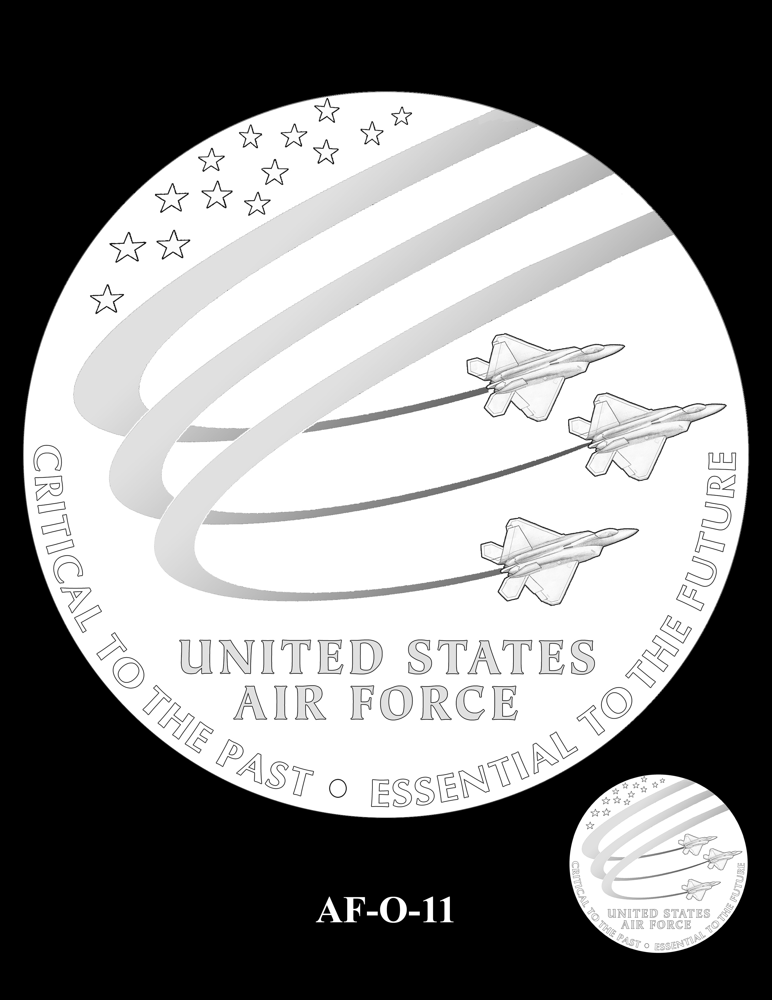 AF-O-11 -- Armed Forces Medal - Air Force