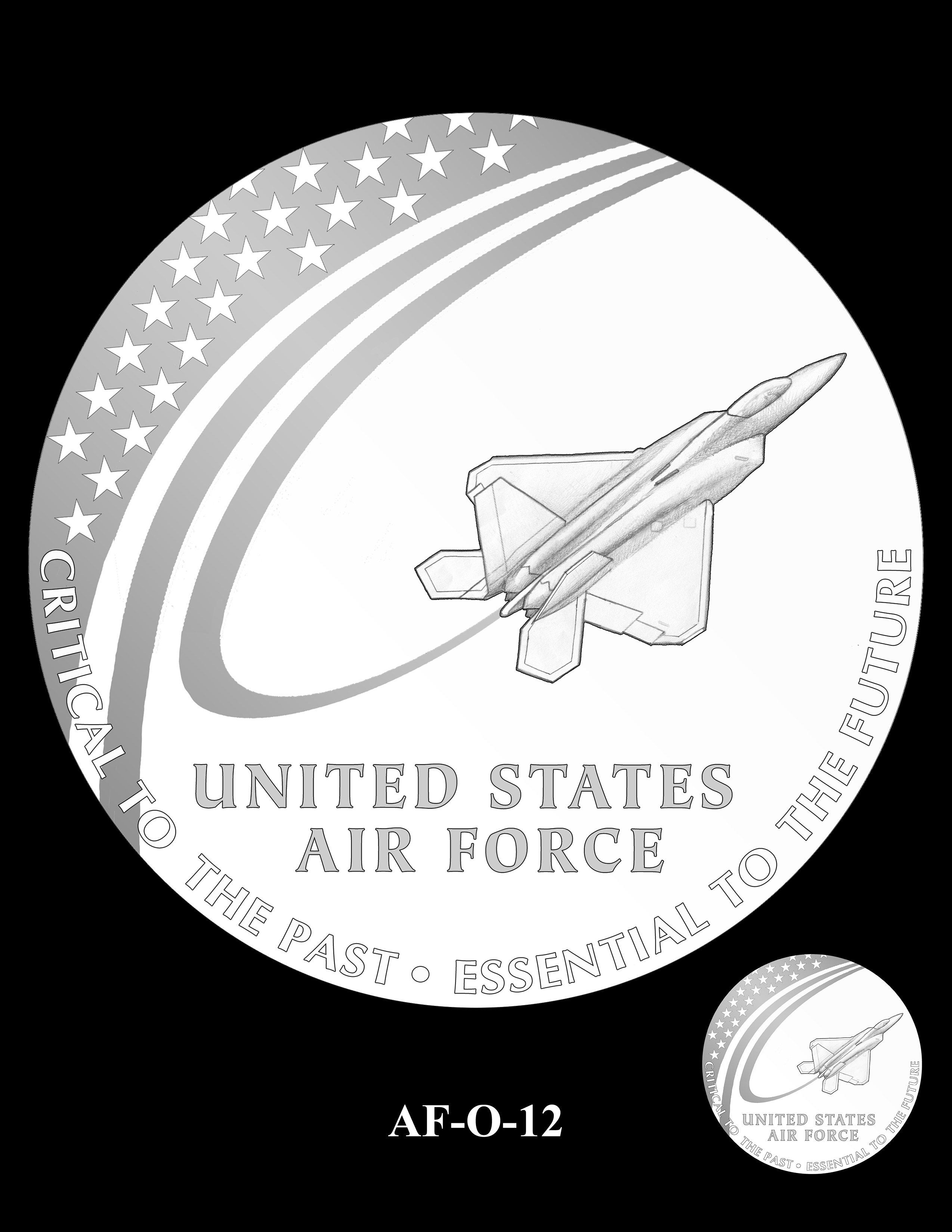 AF-O-12 -- Armed Forces Medal - Air Force