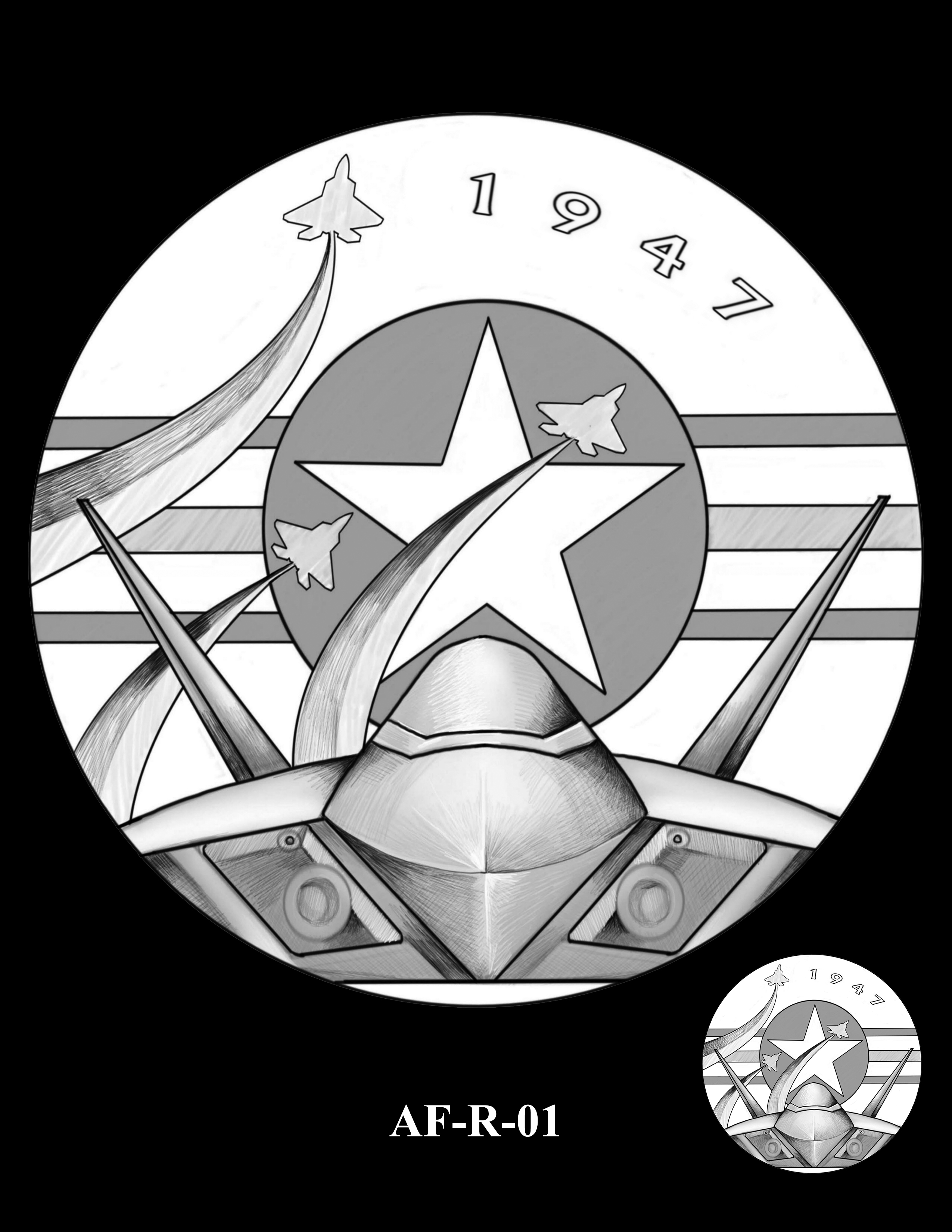 AF-R-01 -- Armed Forces Medal - Air Force