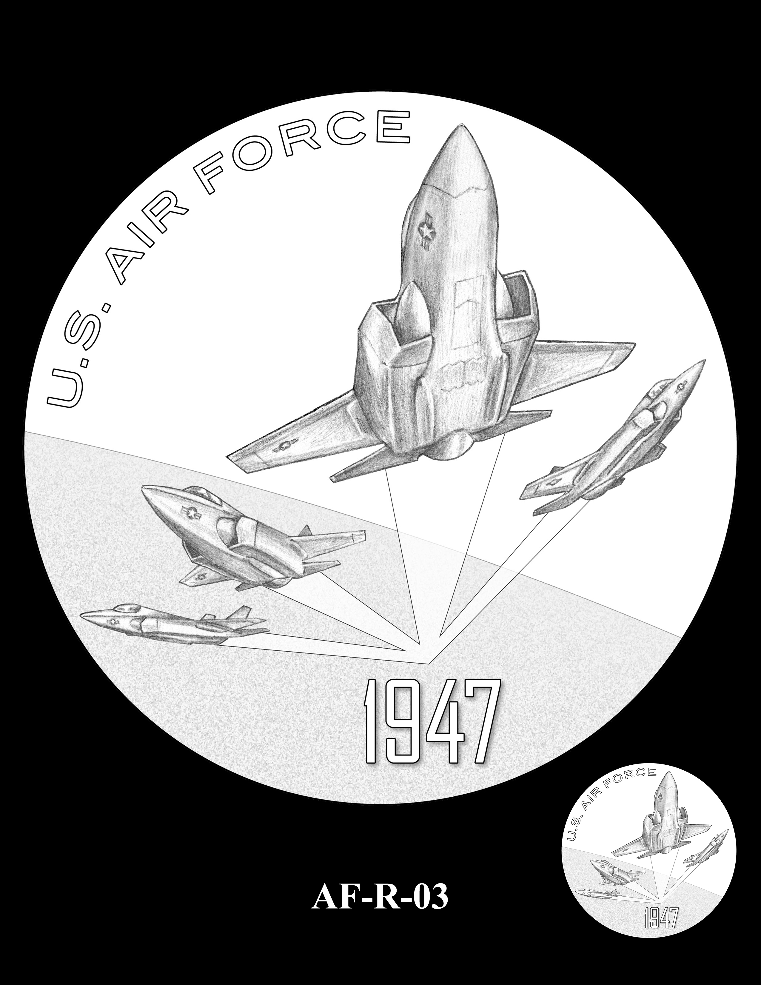 AF-R-03 -- Armed Forces Medal - Air Force