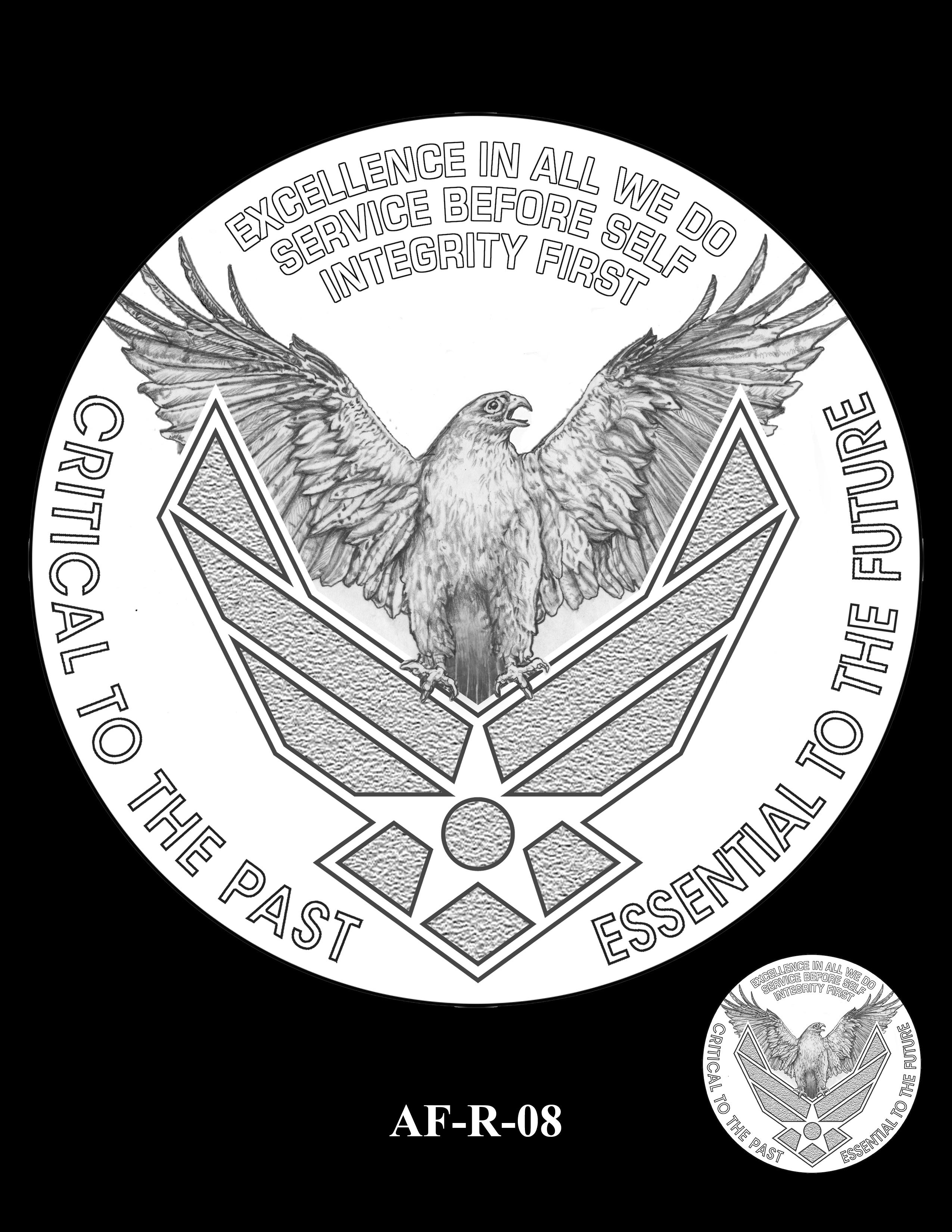 AF-R-08 -- Armed Forces Medal - Air Force