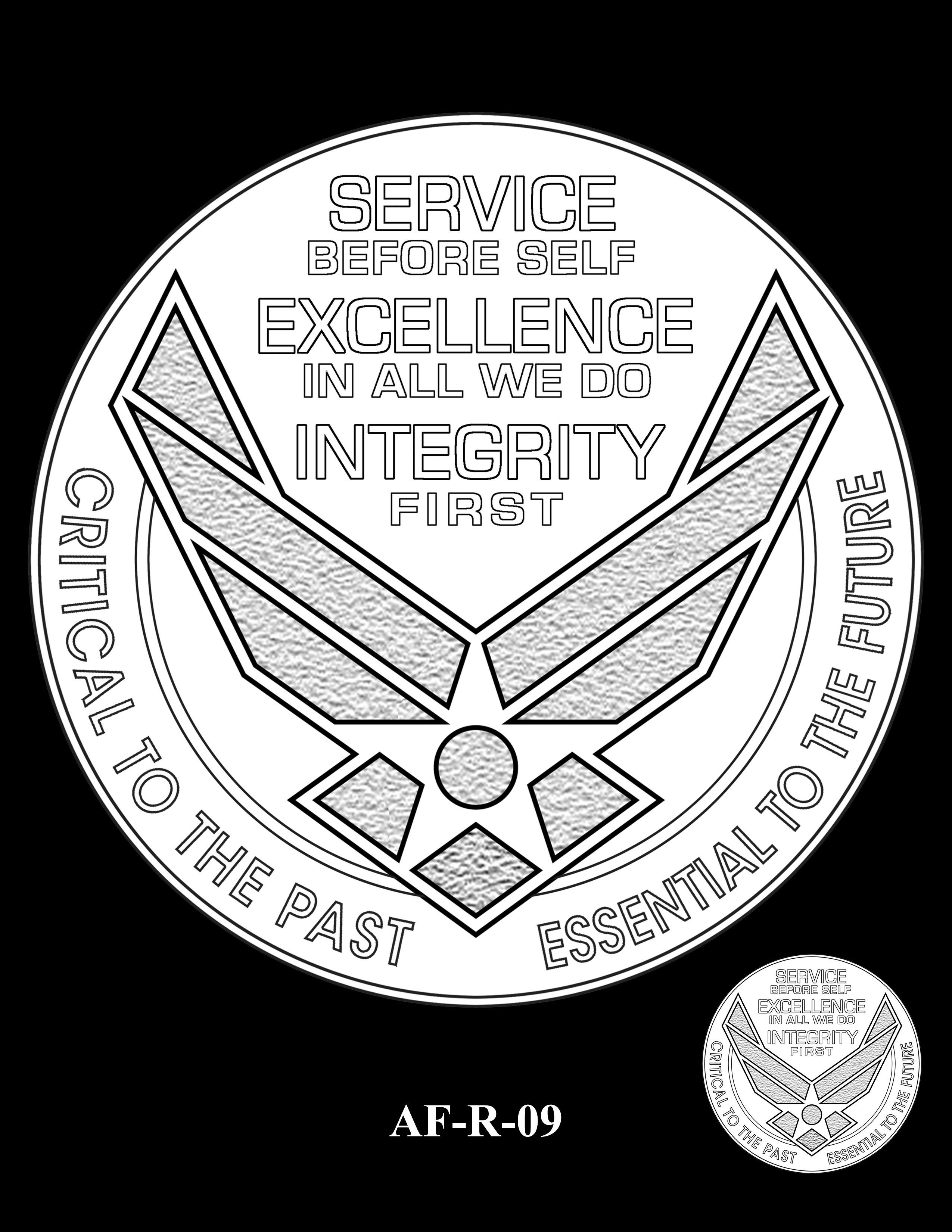 AF-R-09 -- Armed Forces Medal - Air Force