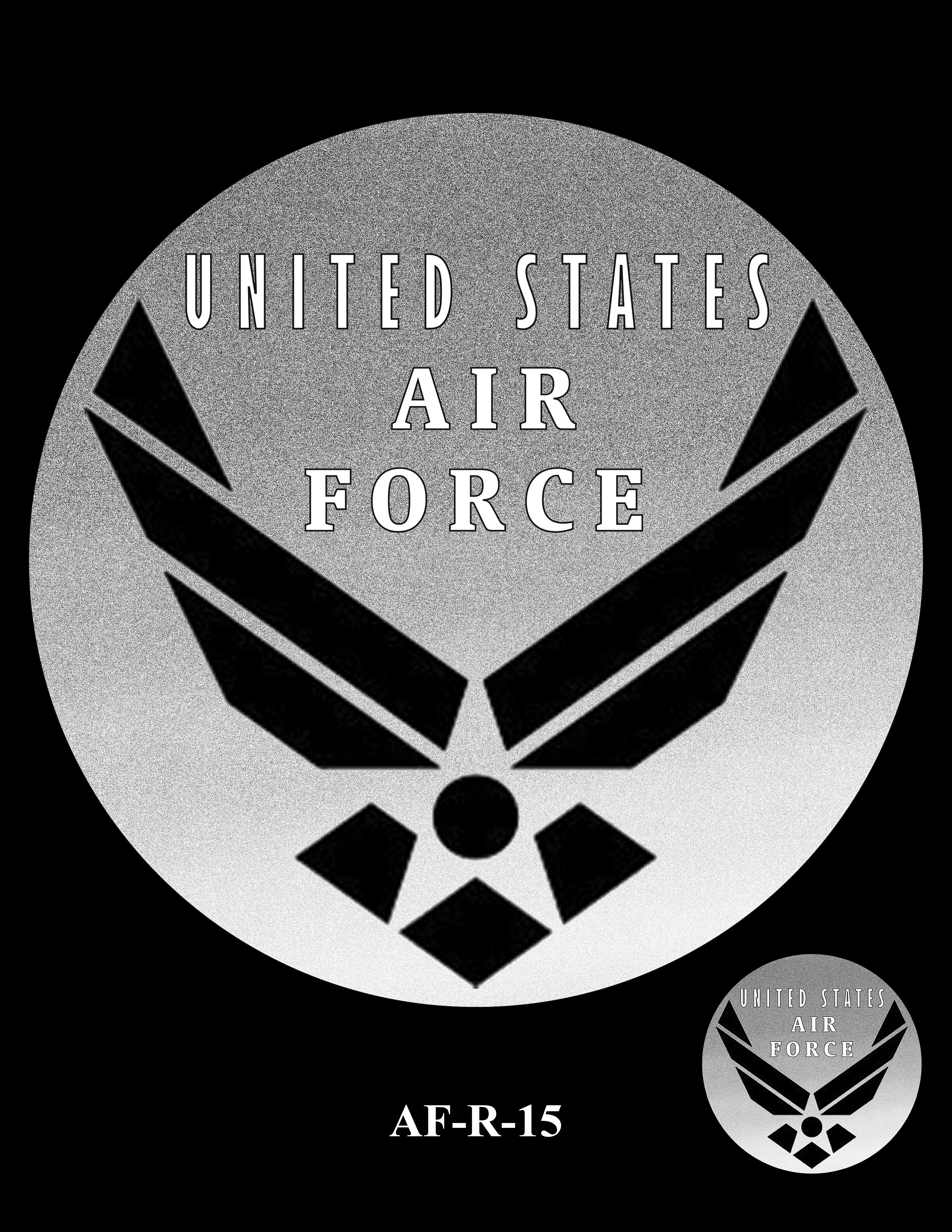 AF-R-15 -- Armed Forces Medal - Air Force