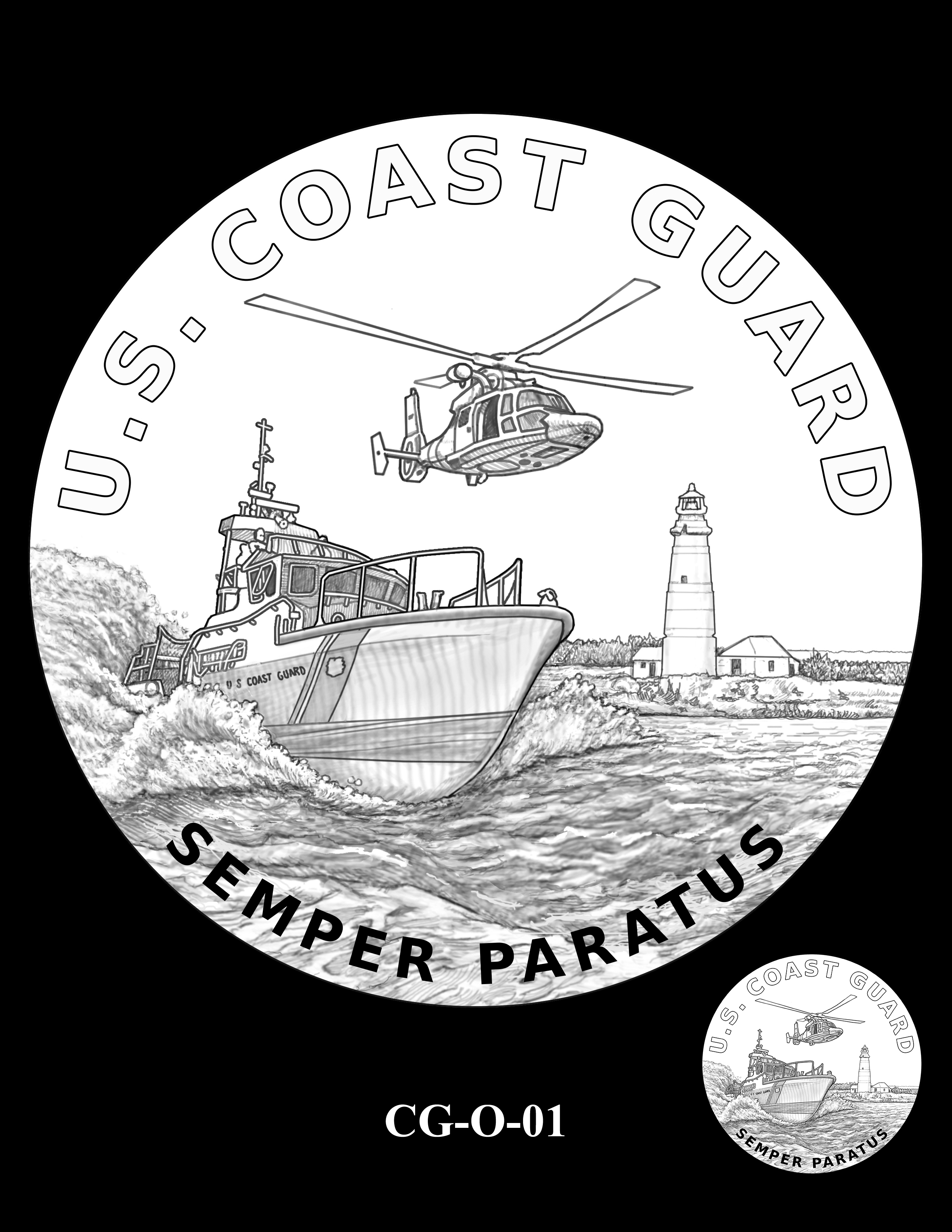 CG-O-01 -- Armed Forces Medal - Coast Guard