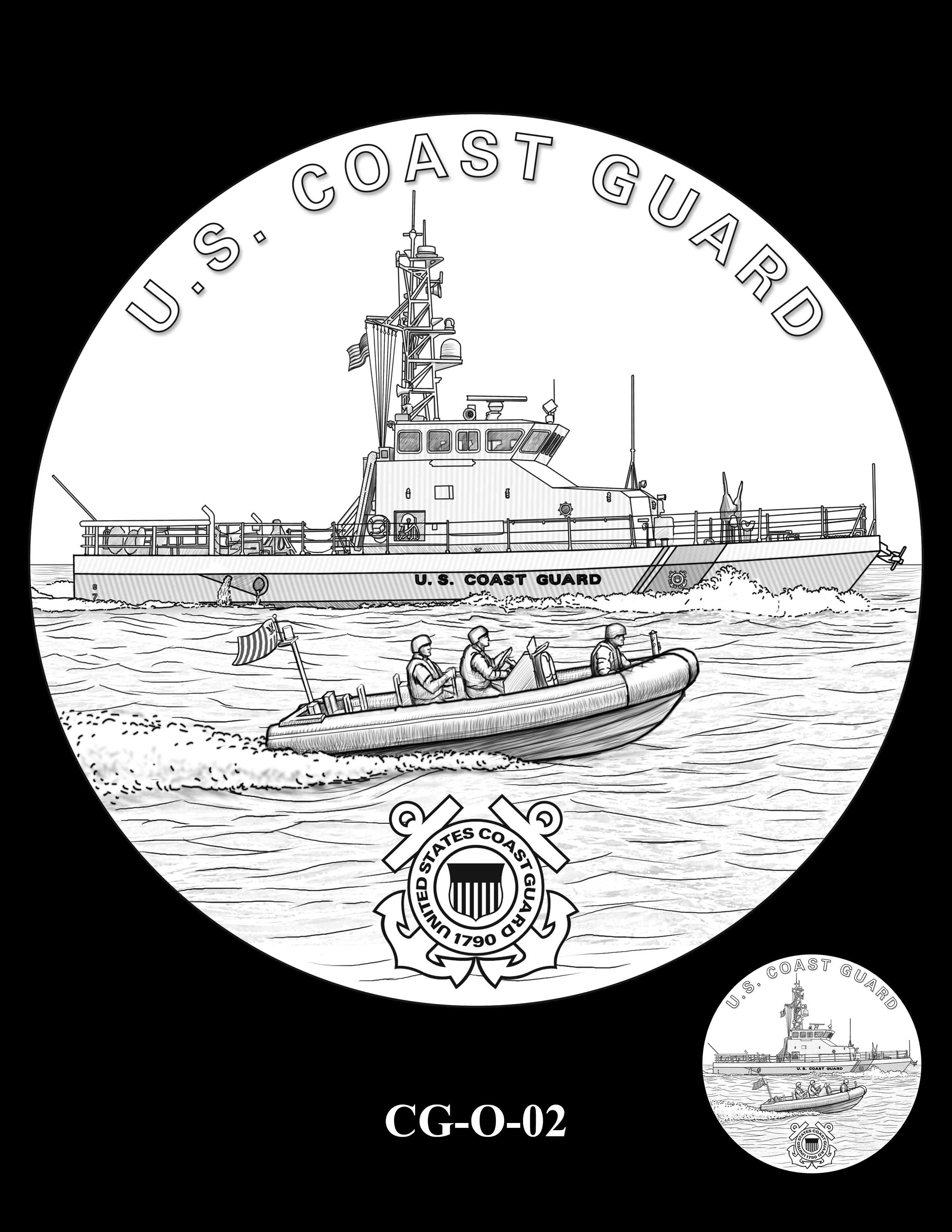 CG-O-02 -- Armed Forces Medal - Coast Guard