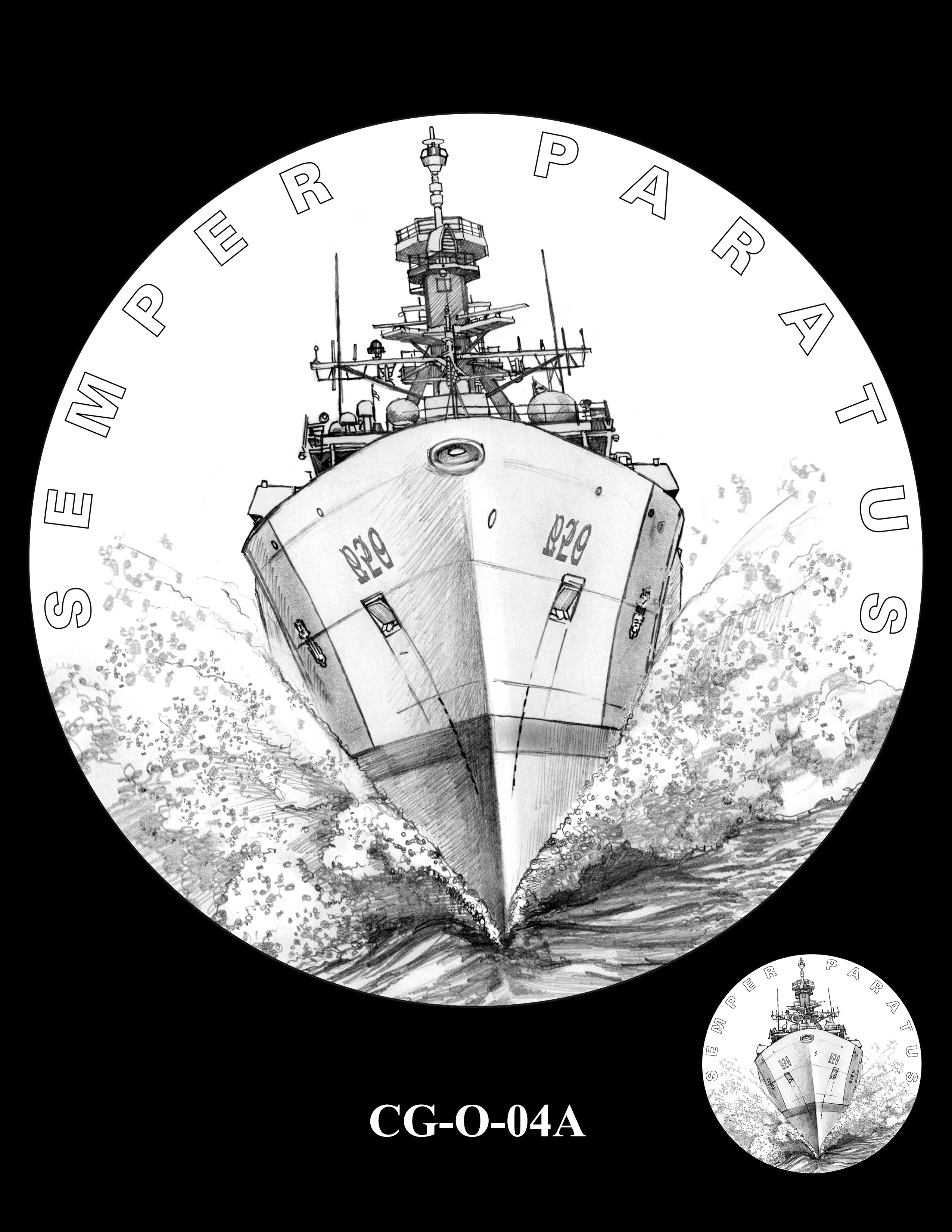 CG-O-04A -- Armed Forces Medal - Coast Guard