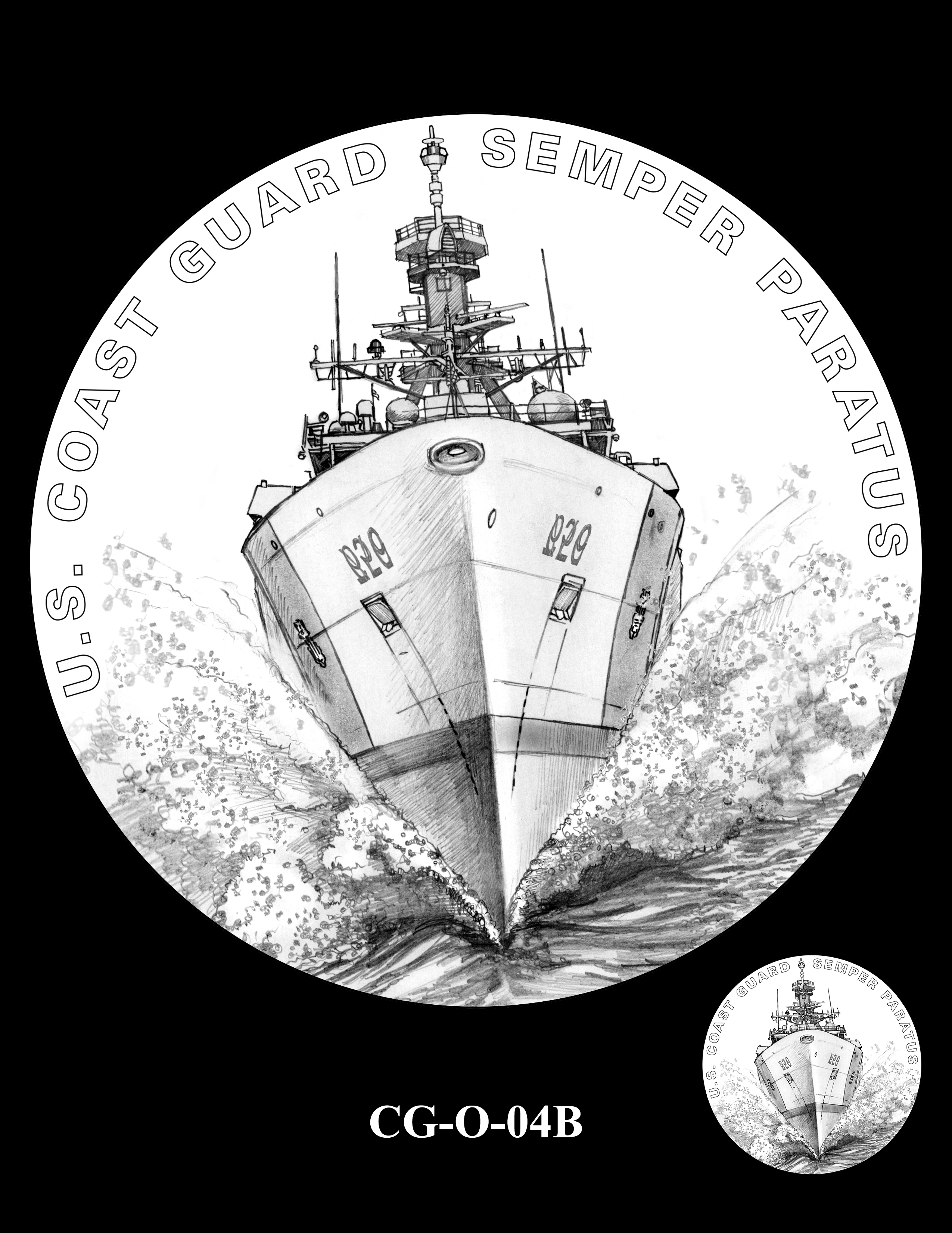 CG-O-04B -- Armed Forces Medal - Coast Guard