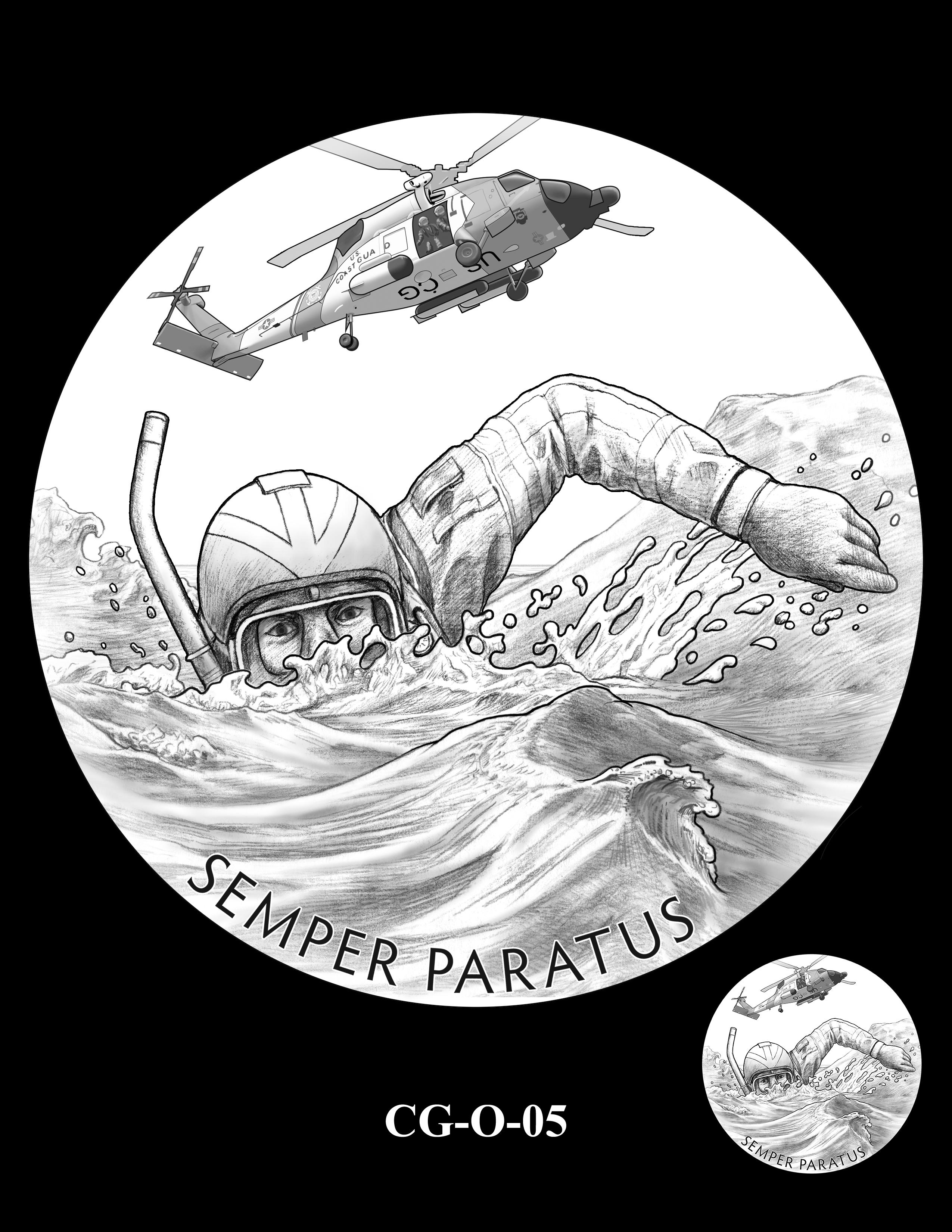 CG-O-05 -- Armed Forces Medal - Coast Guard