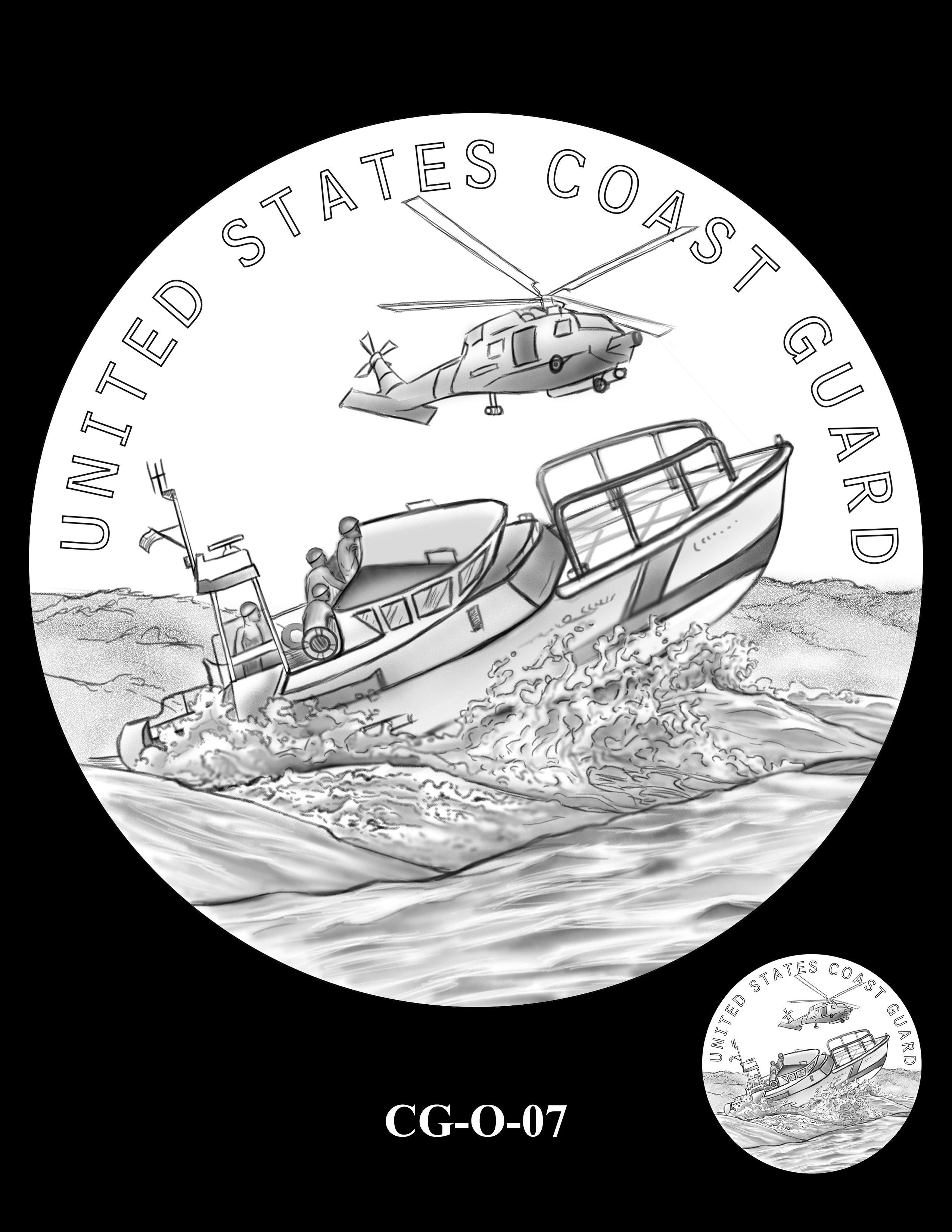 CG-O-07 -- Armed Forces Medal - Coast Guard