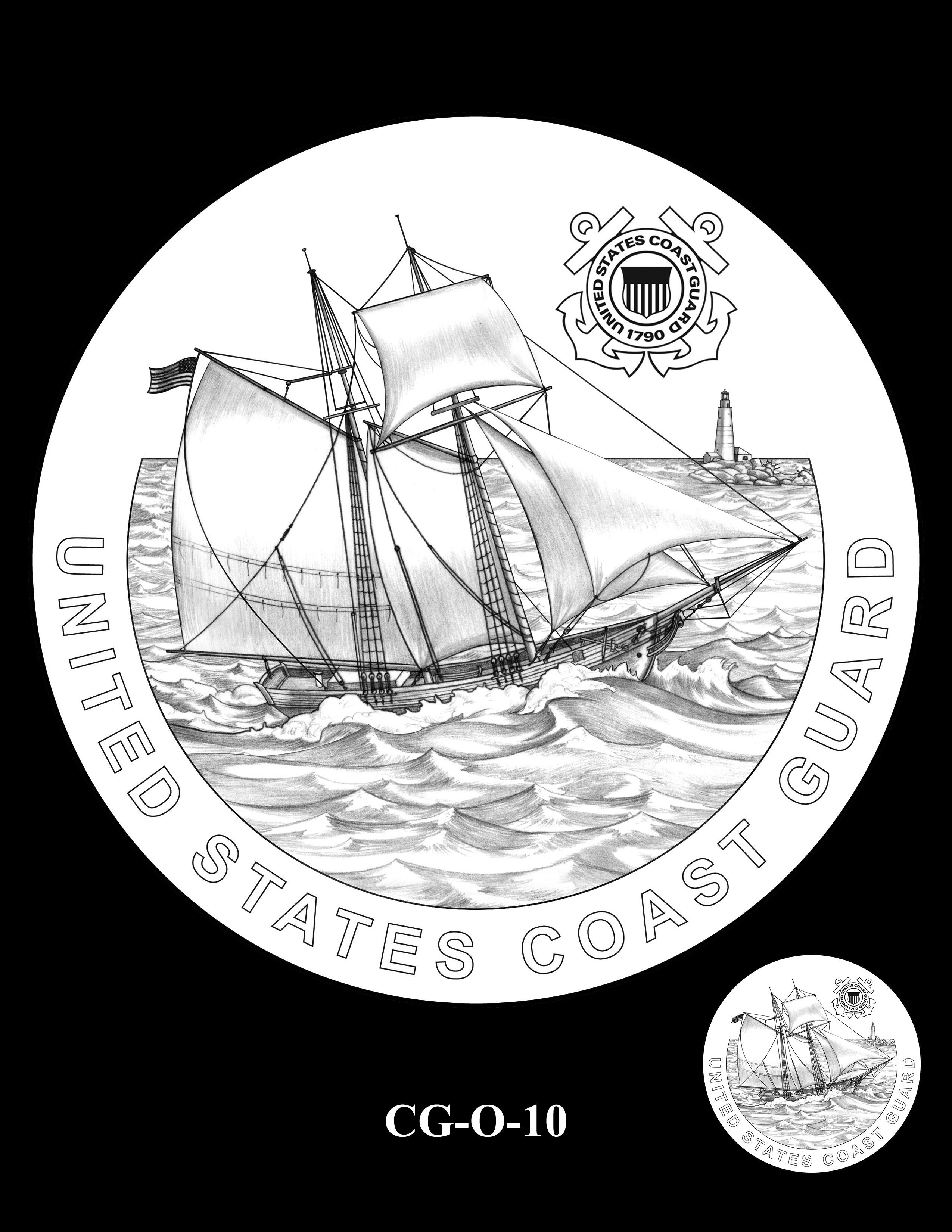 CG-O-10 -- Armed Forces Medal - Coast Guard