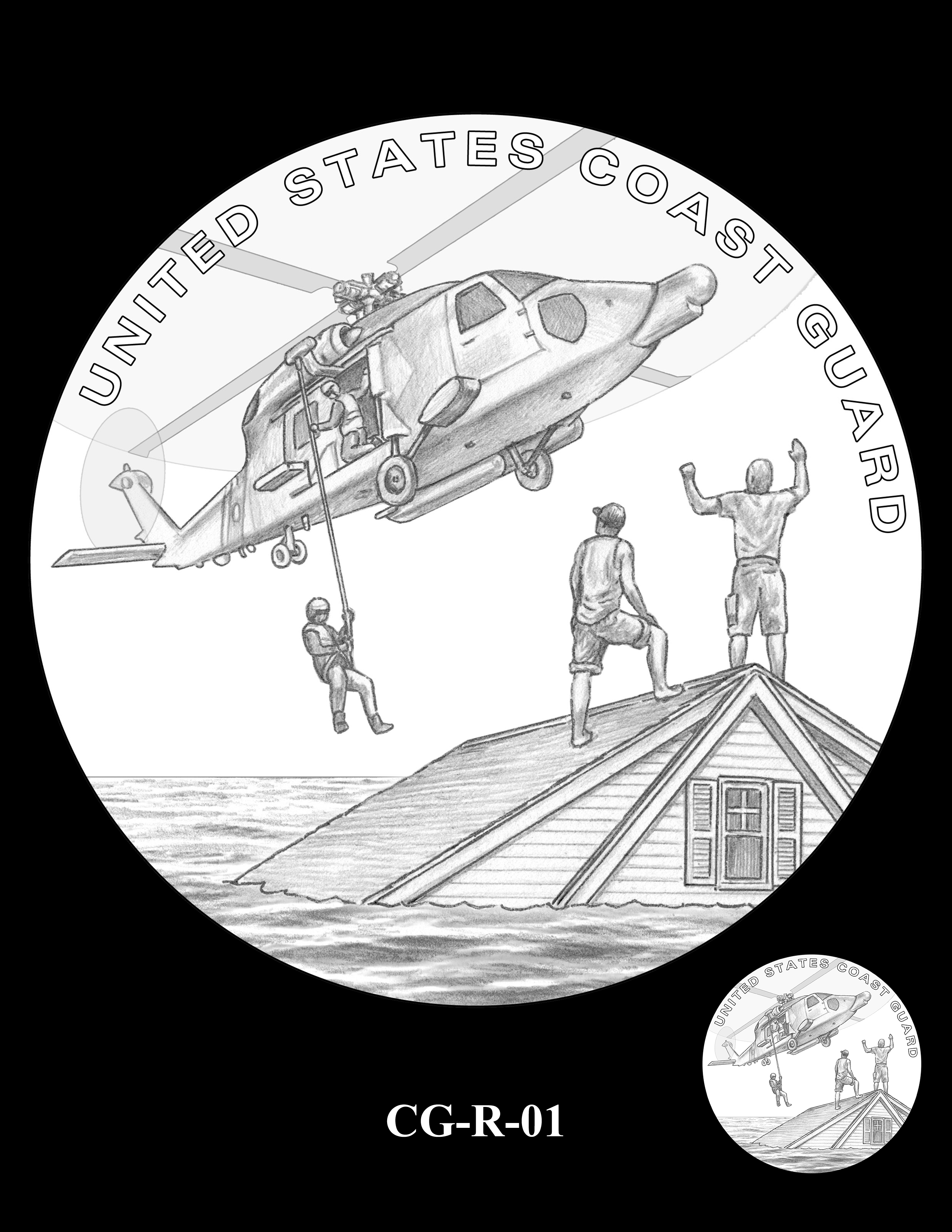 CG-R-01 -- Armed Forces Medal - Coast Guard