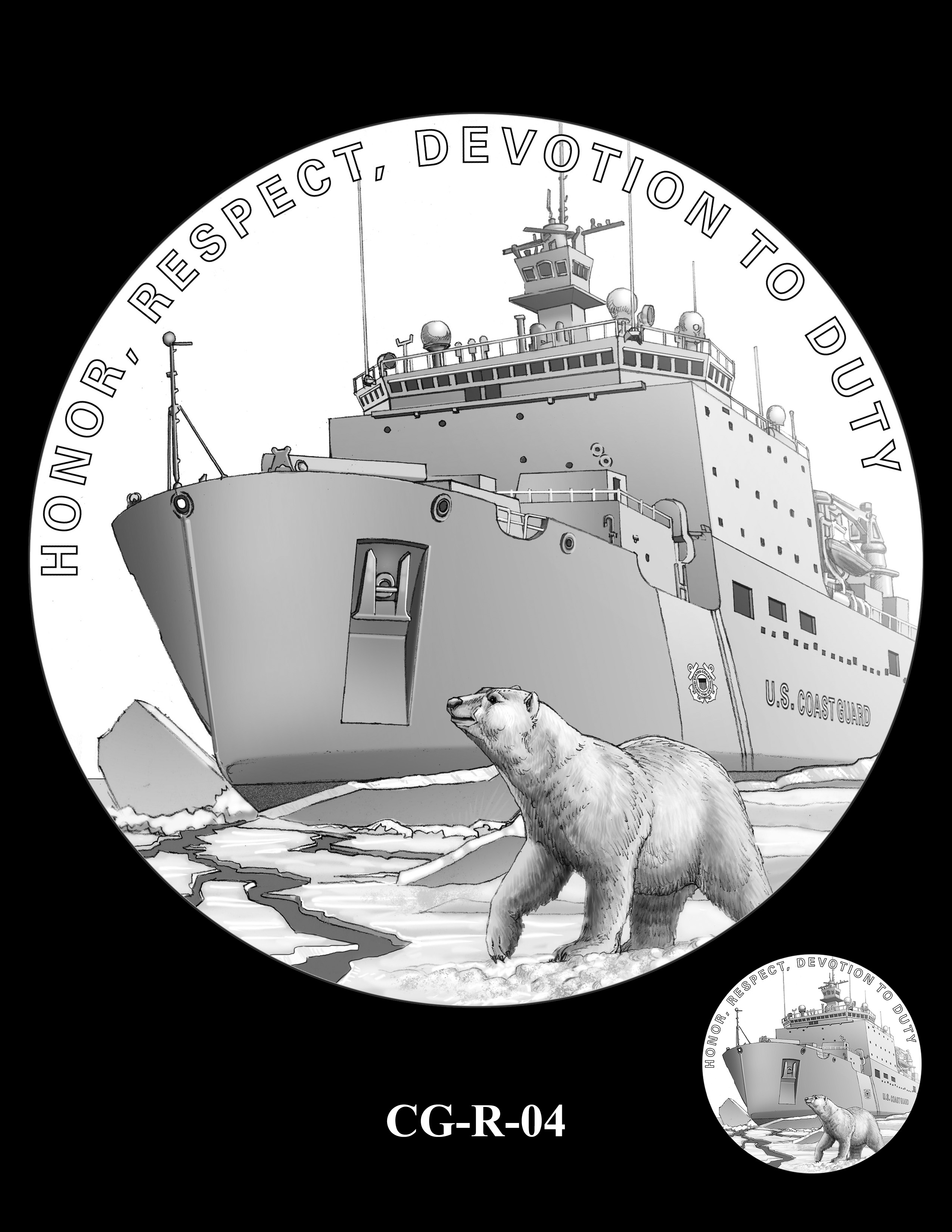 CG-R-04 Revised 9-24-18 -- Armed Forces Medal - Coast Guard