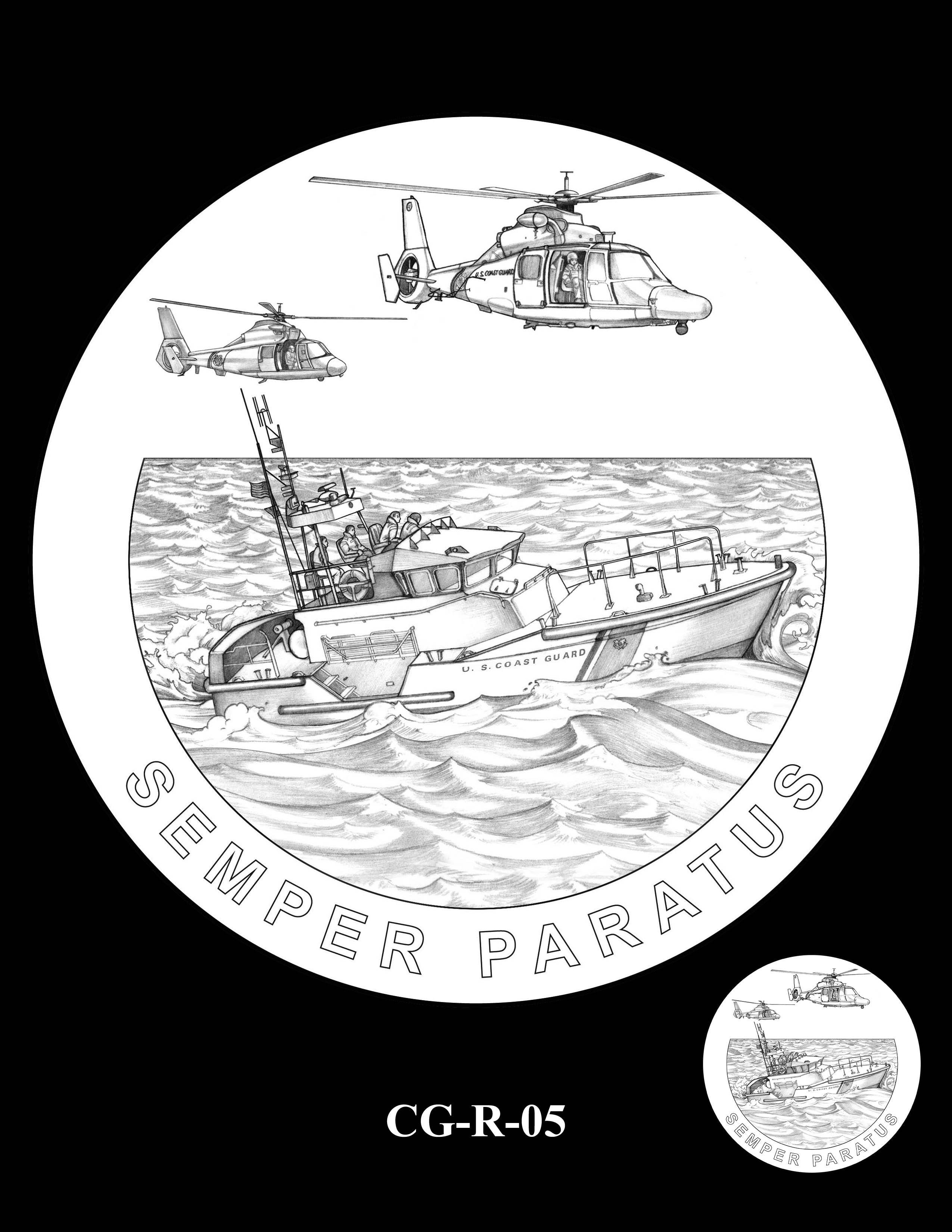 CG-R-05 -- Armed Forces Medal - Coast Guard