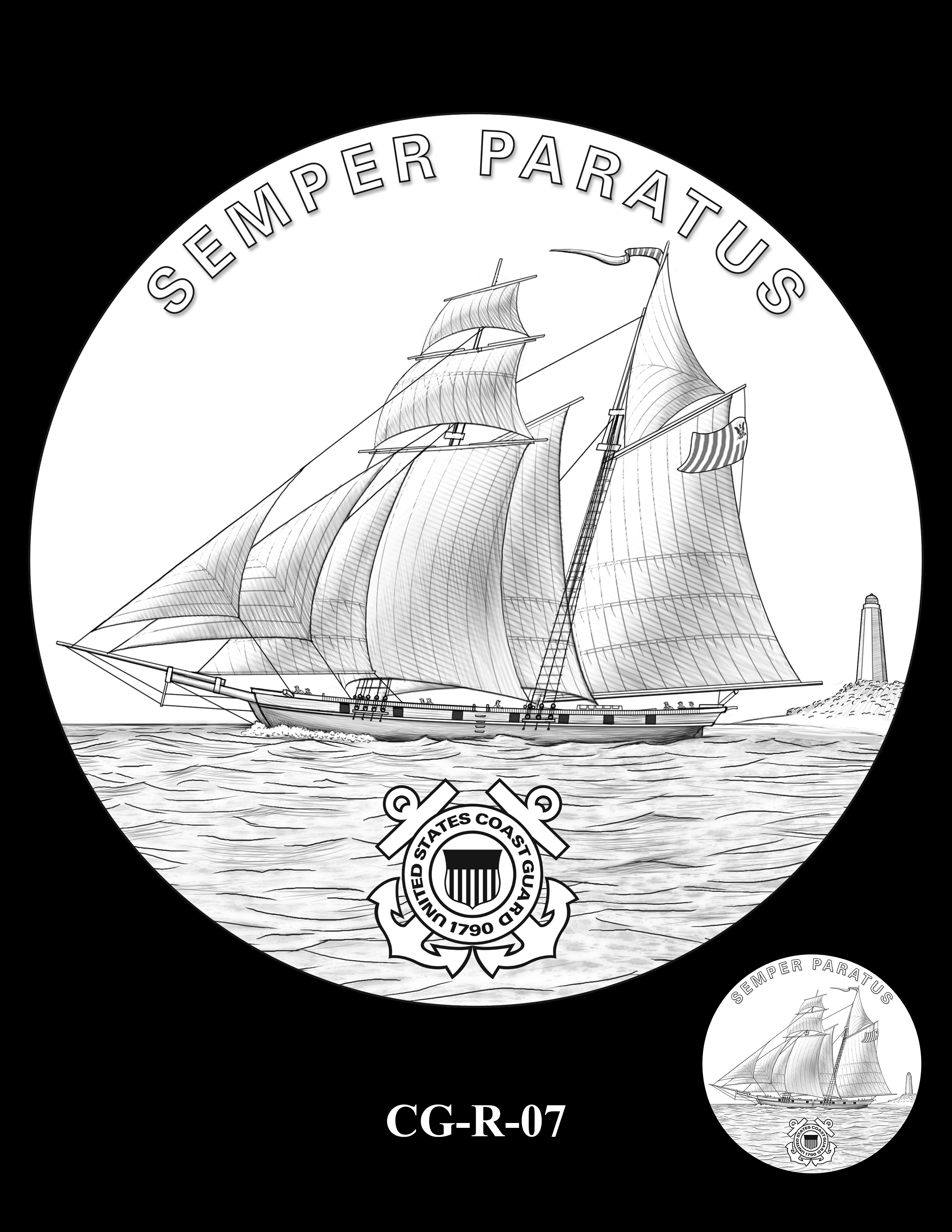 CG-R-07 -- Armed Forces Medal - Coast Guard