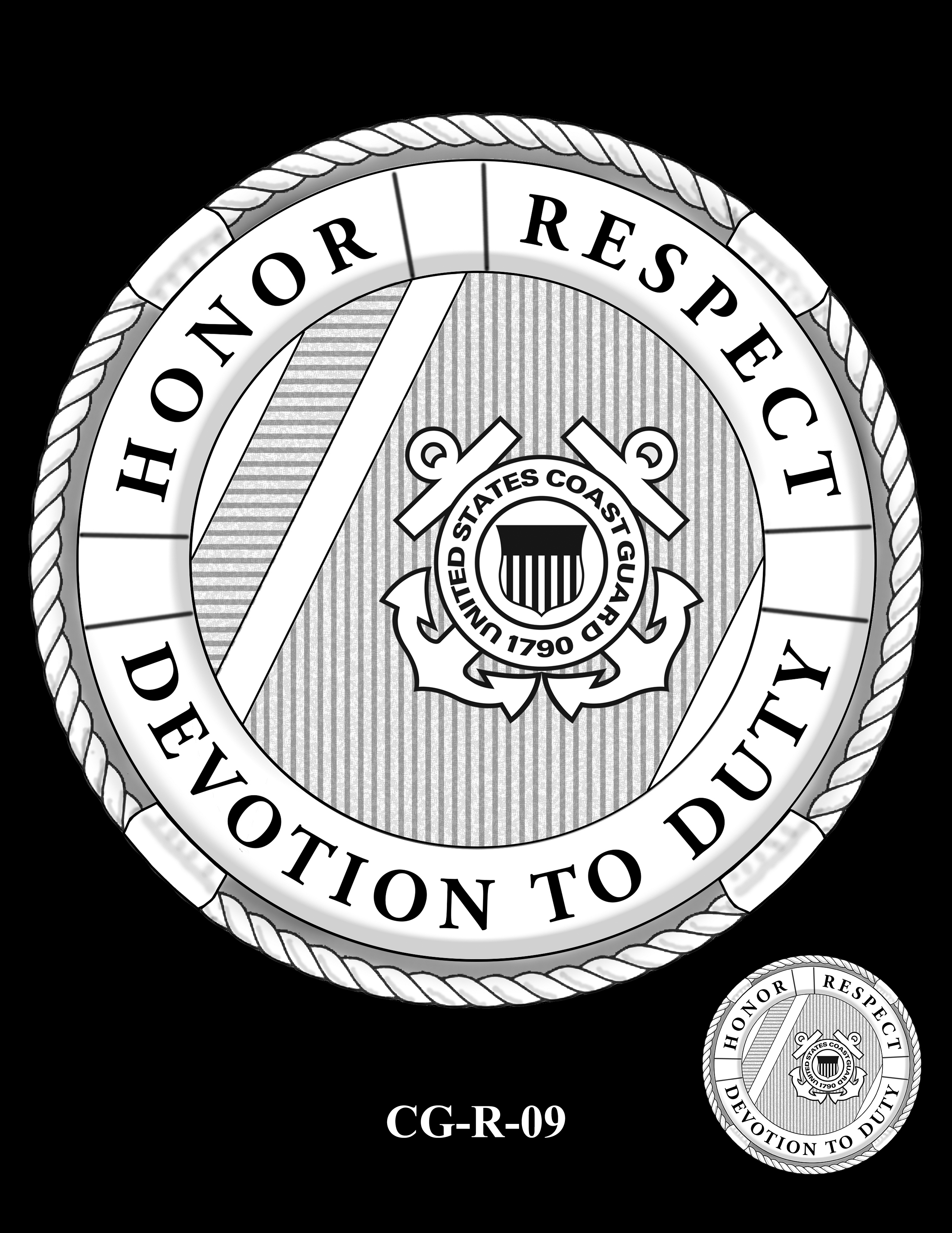 CG-R-09 -- Armed Forces Medal - Coast Guard