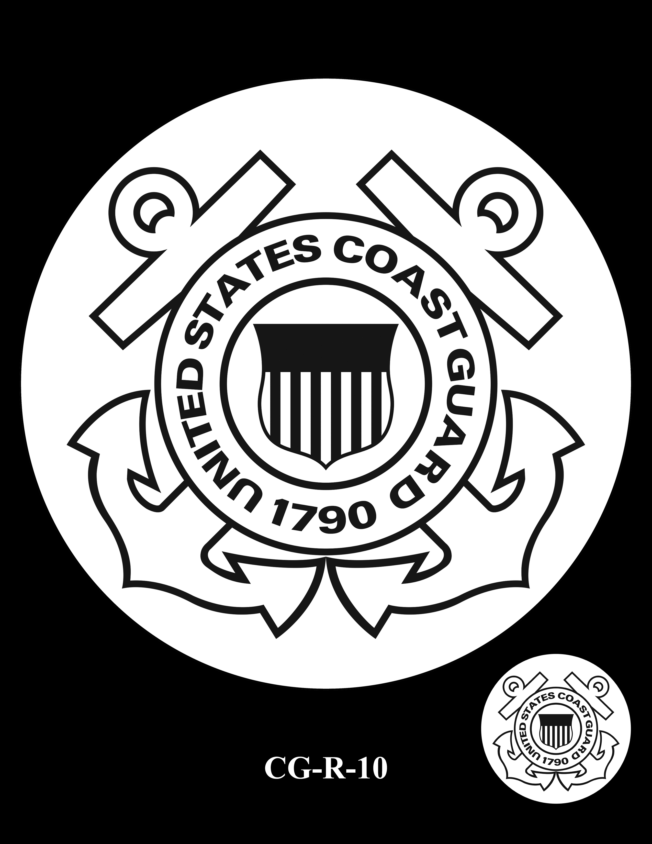CG-R-10 -- Armed Forces Medal - Coast Guard