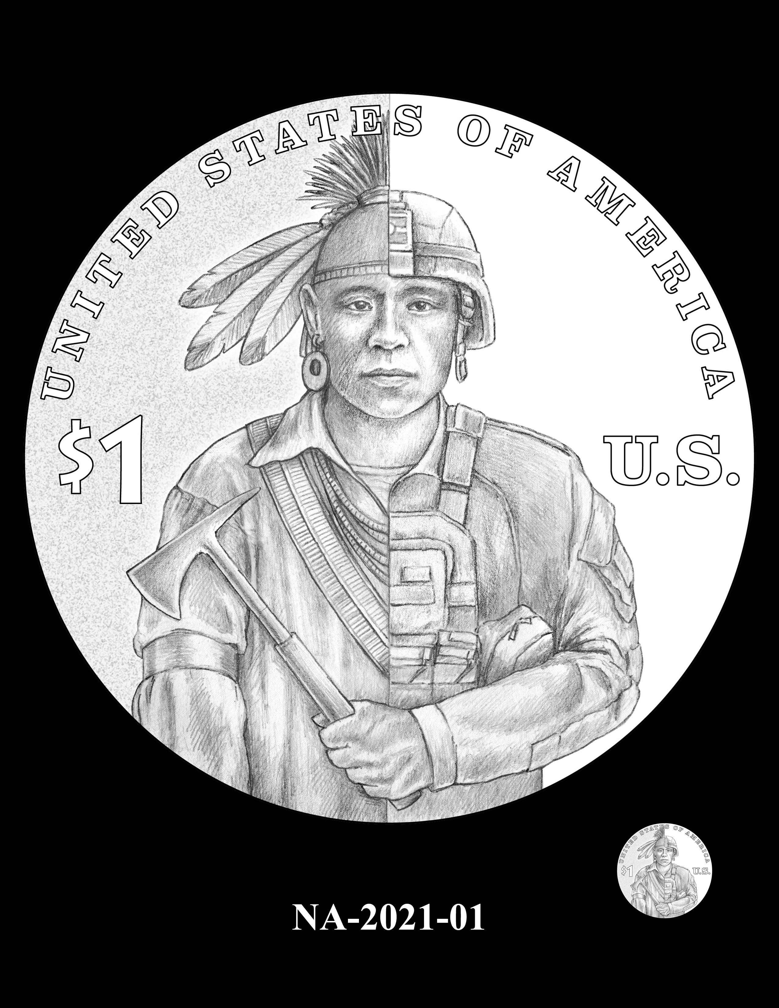 NA-2021-01 -- 2021 Native American $1