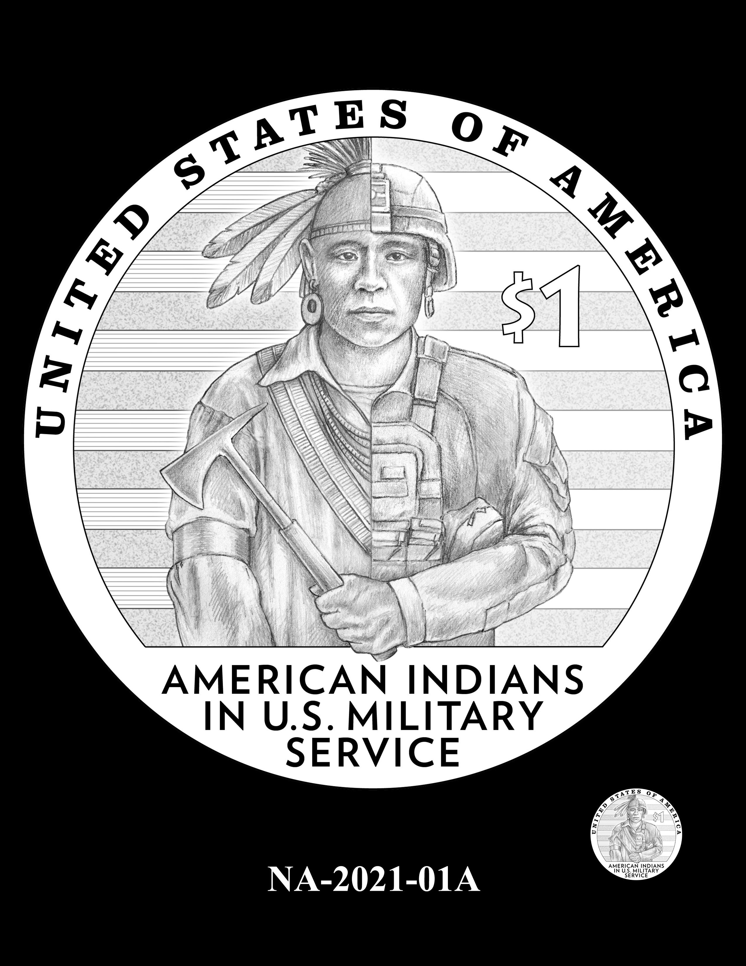 NA-2021-01A -- 2021 Native American $1