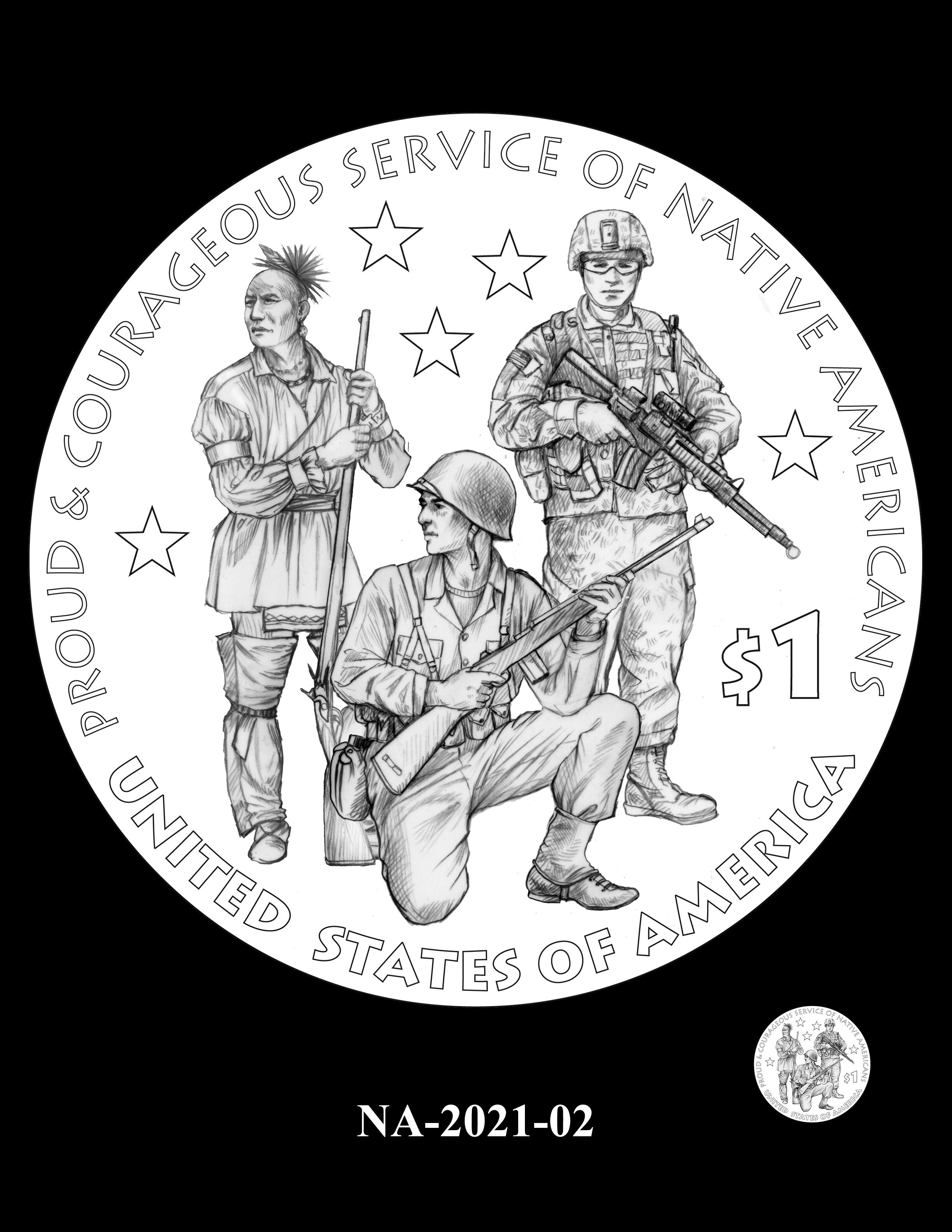 NA-2021-02 -- 2021 Native American $1