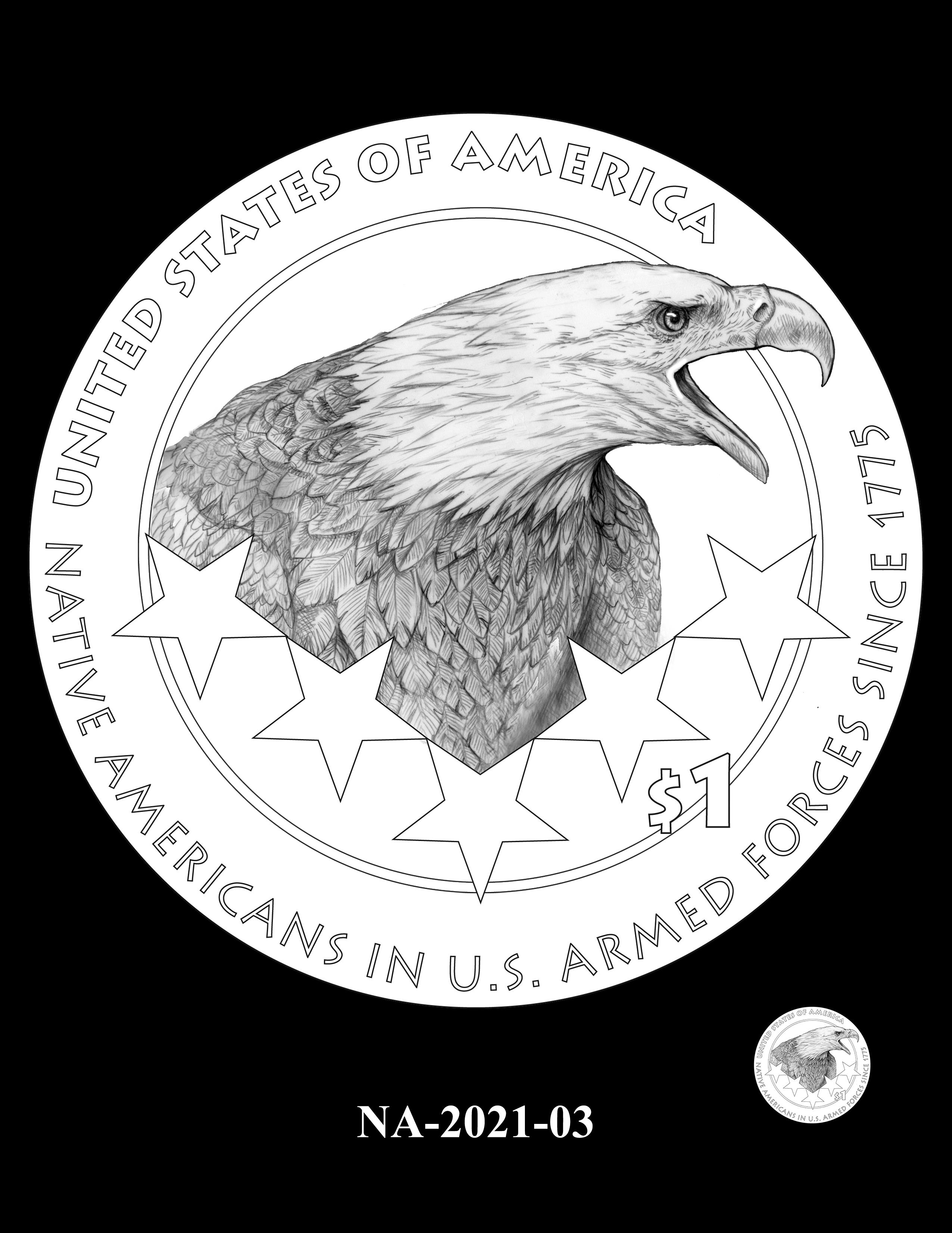 NA-2021-03 -- 2021 Native American $1