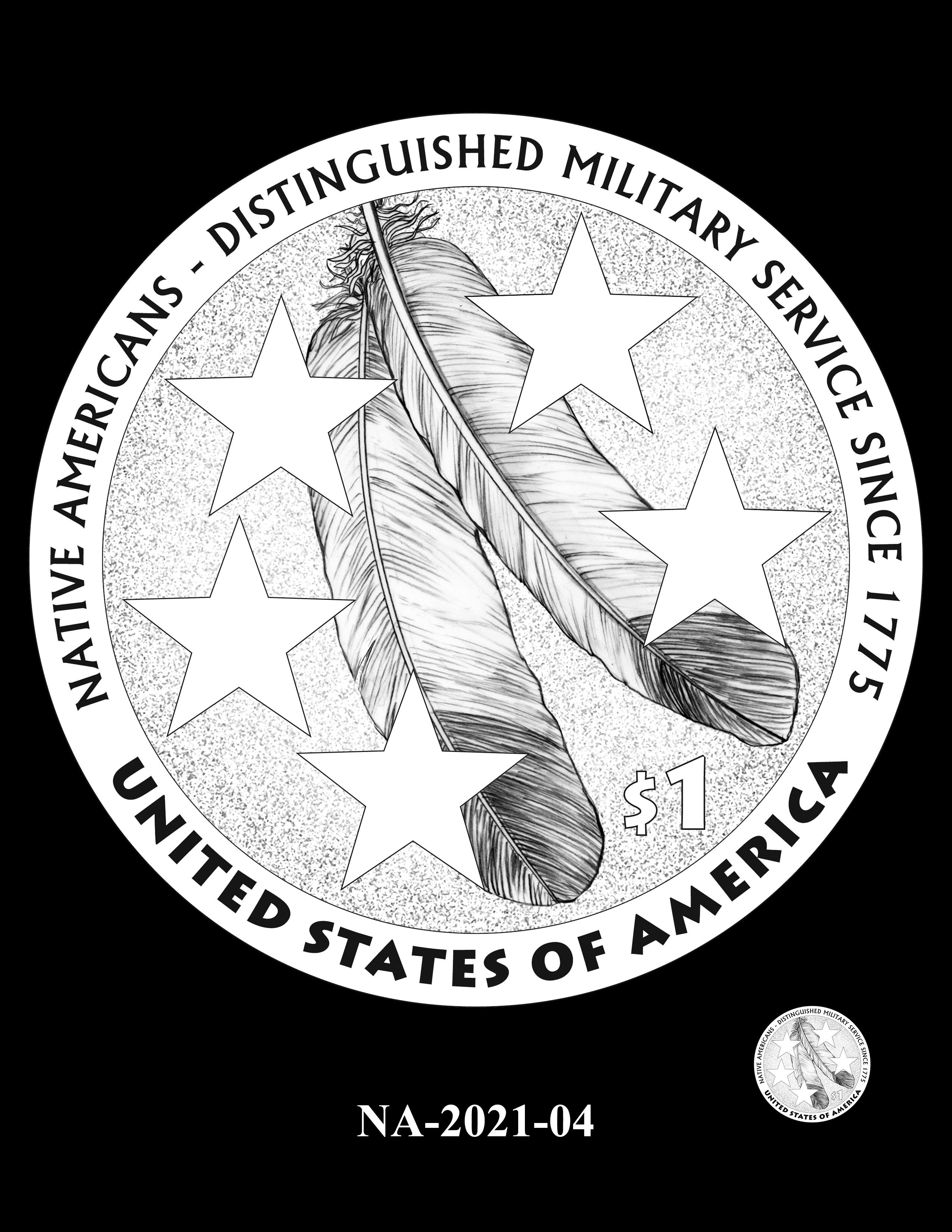 NA-2021-04 -- 2021 Native American $1
