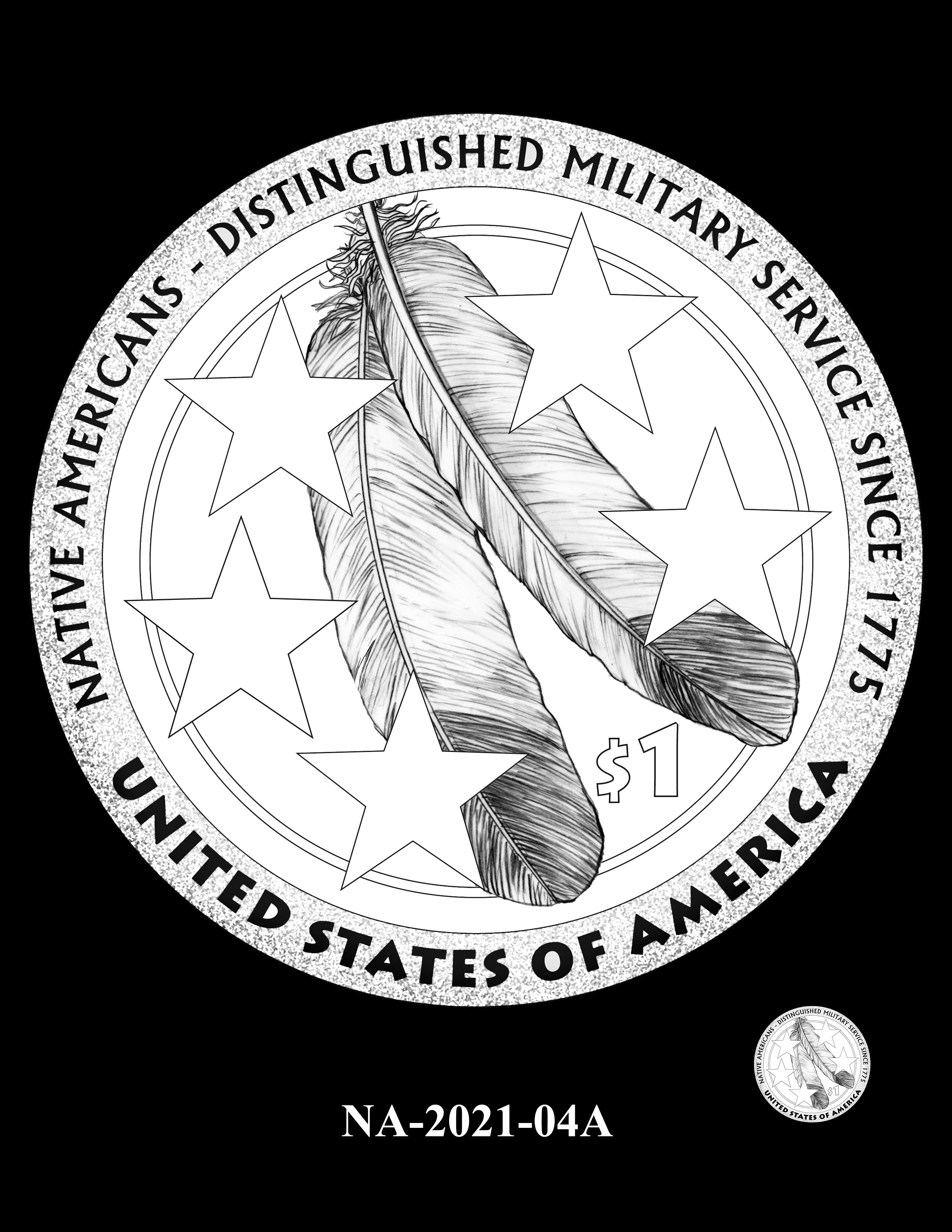 NA-2021-04A -- 2021 Native American $1