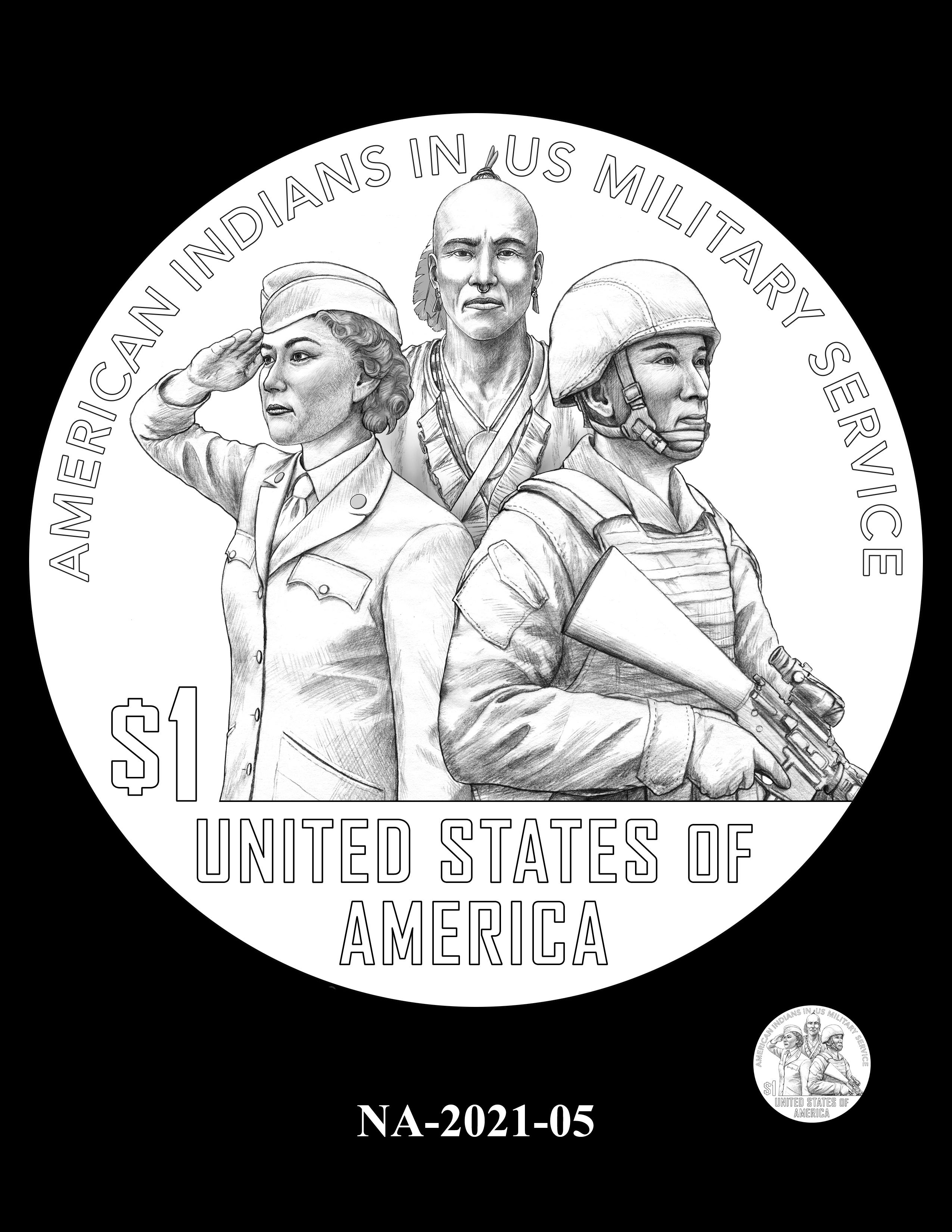 NA-2021-05 -- 2021 Native American $1