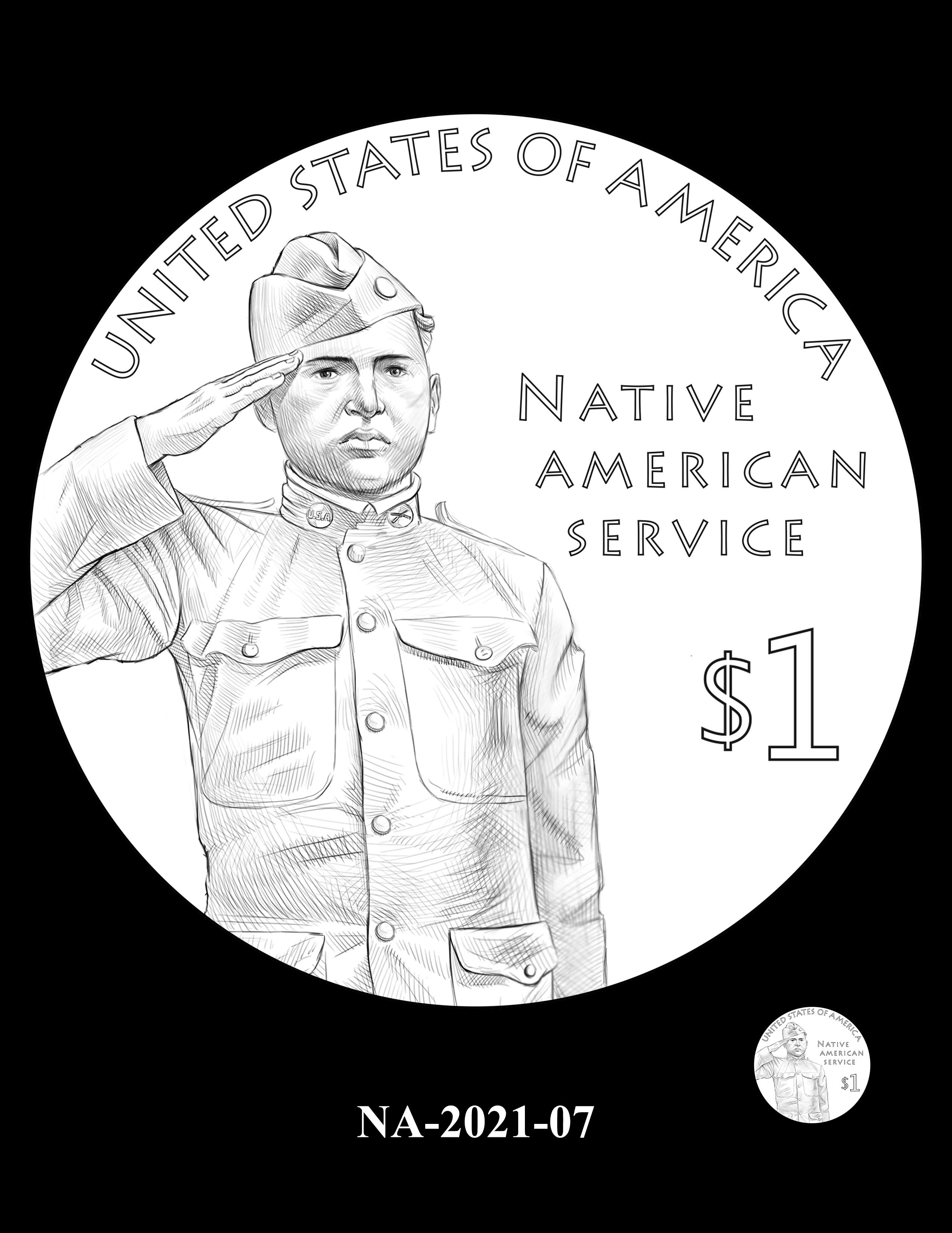 NA-2021-07-- 2021 Native American $1