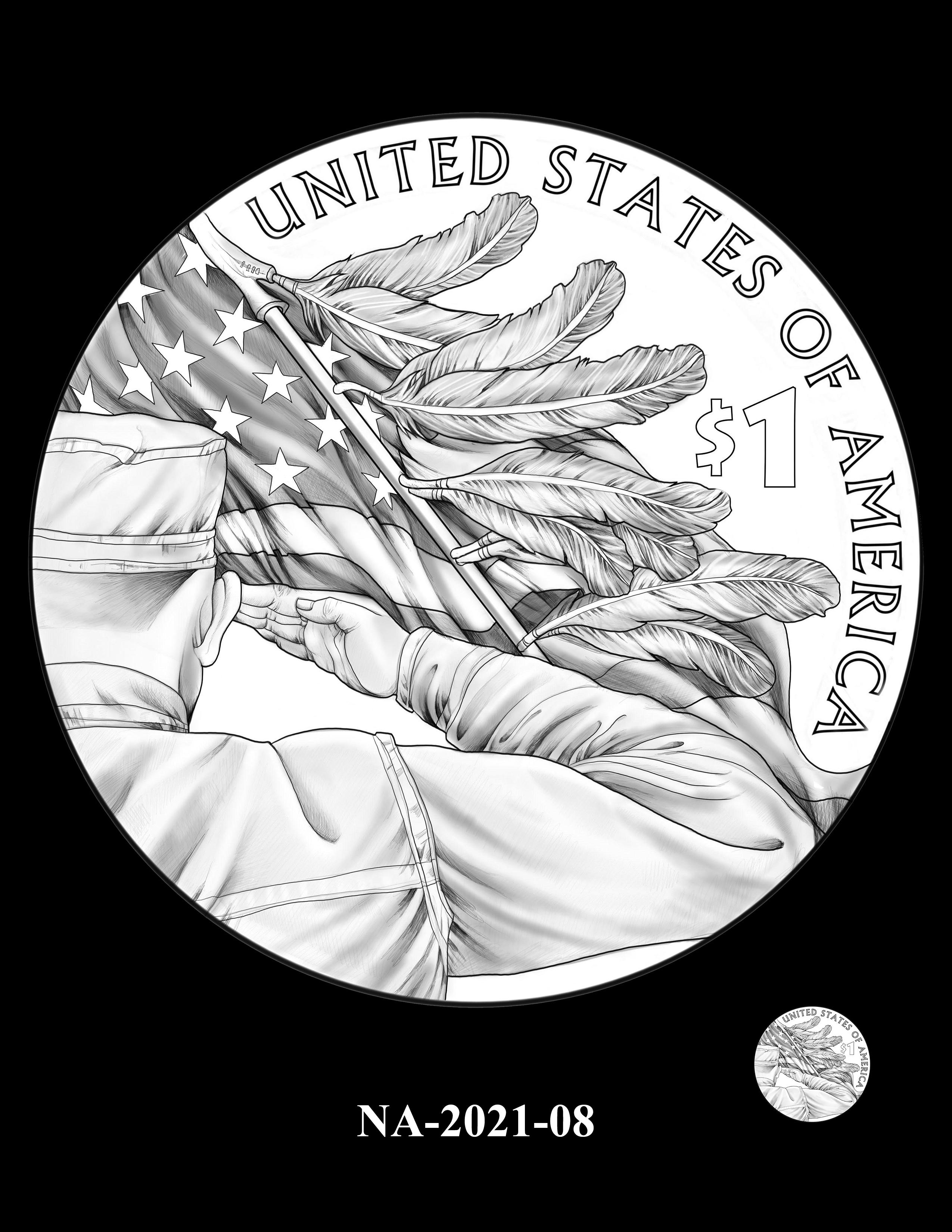 NA-2021-08 -- 2021 Native American $1