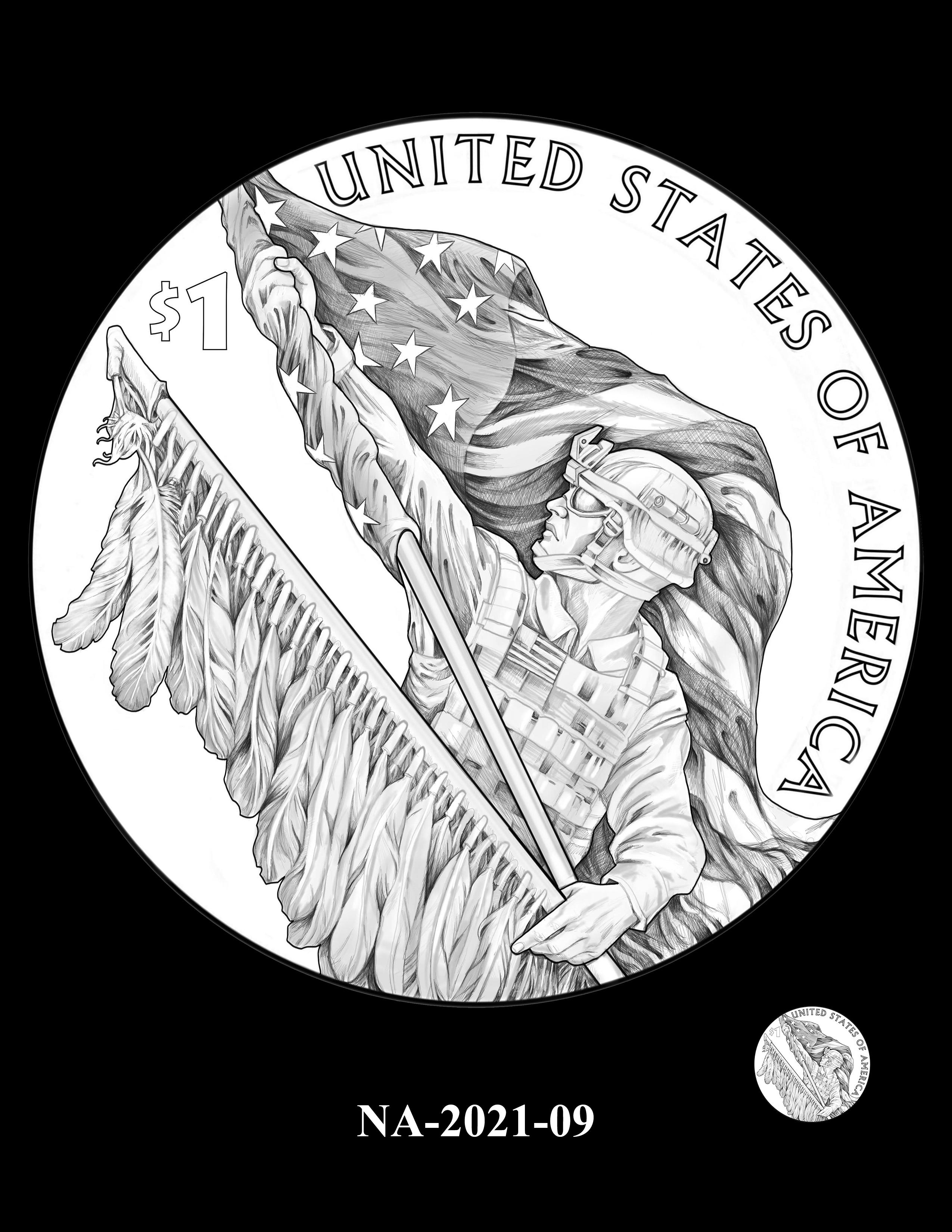 NA-2021-09 -- 2021 Native American $1