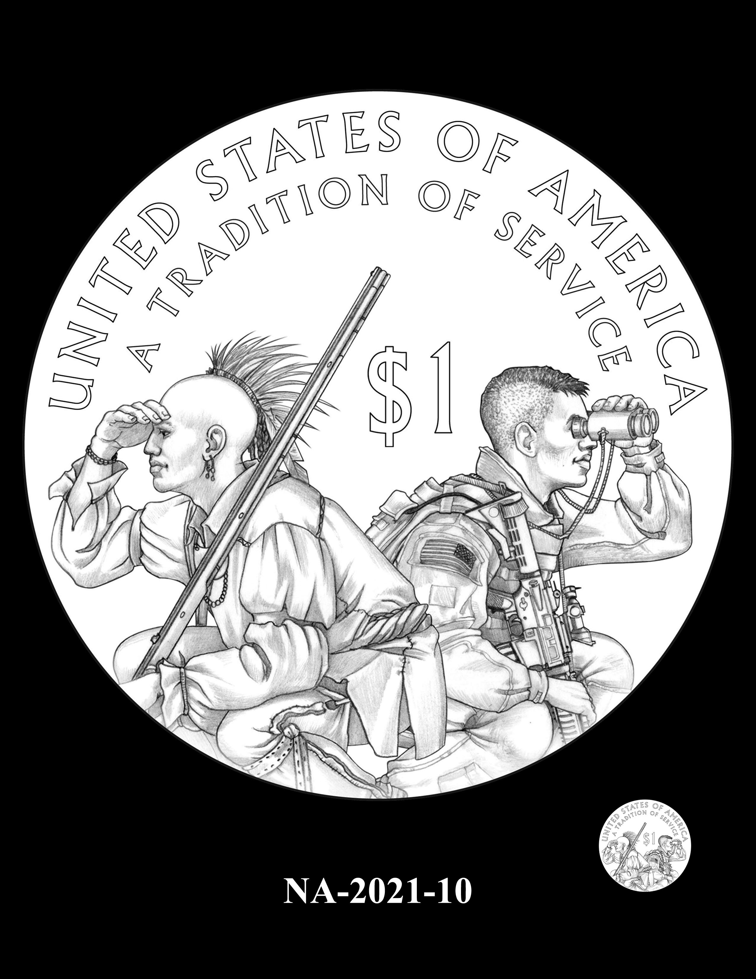 NA-2021-10 -- 2021 Native American $1