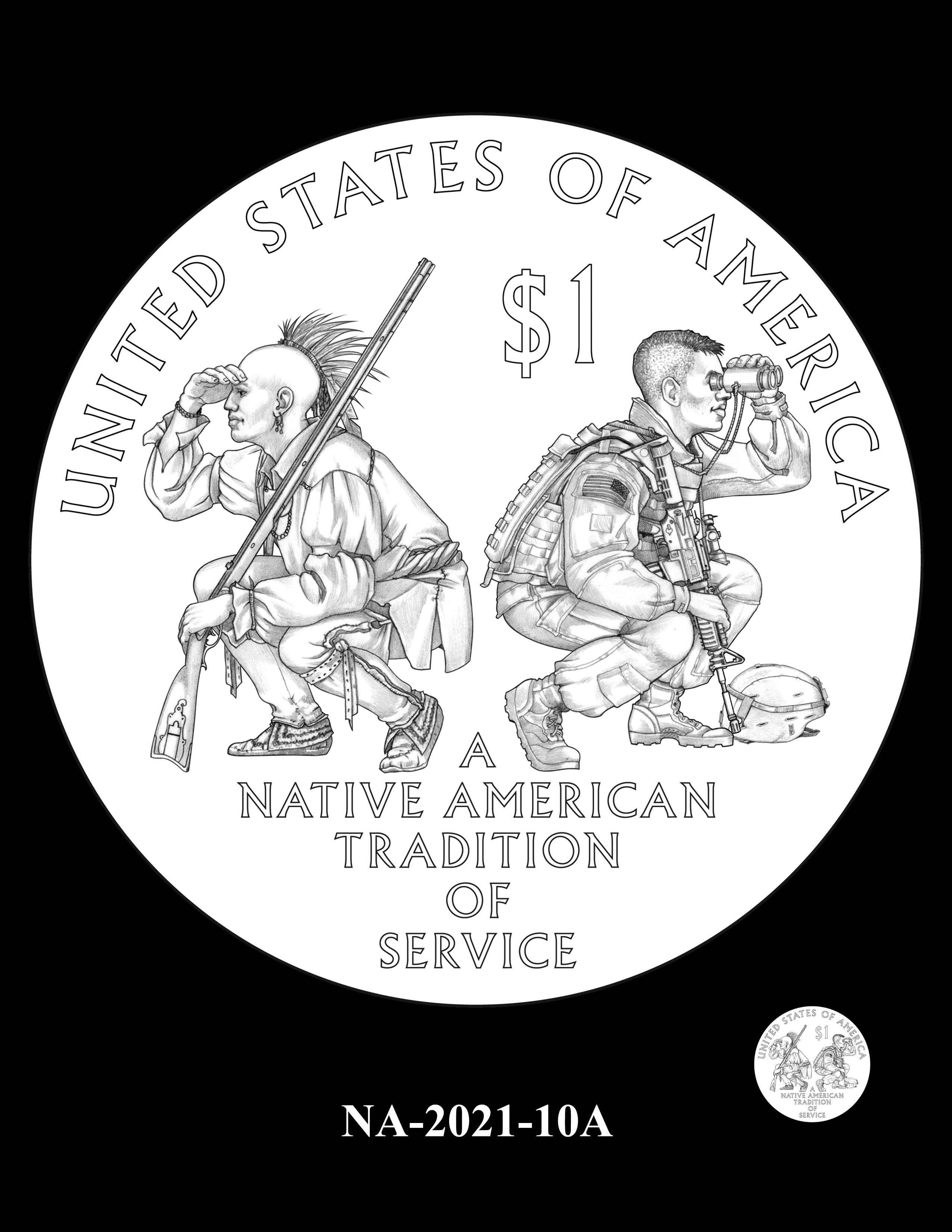 NA-2021-10A -- 2021 Native American $1