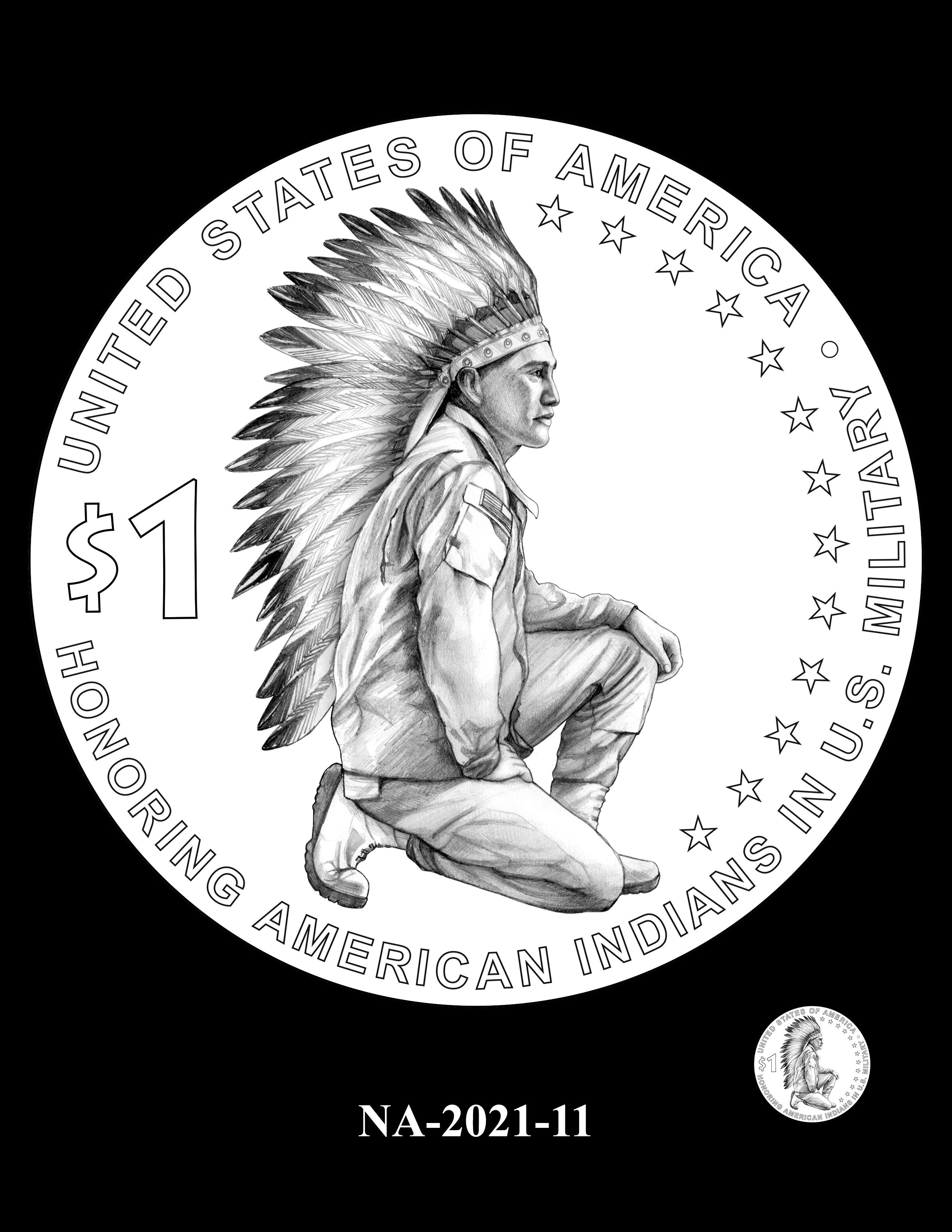 NA-2021-11 -- 2021 Native American $1