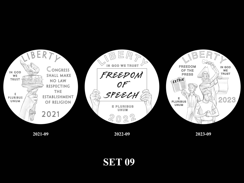 SET-09 -- 2021 - 2025 American Eagle Platinum Proof Program