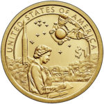 2019 Native American One Dollar Enhanced Uncirculated Reverse